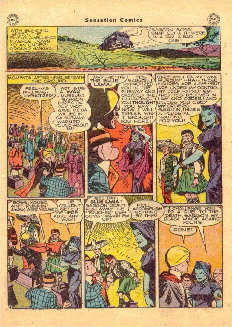 Read online Sensation (Mystery) Comics comic -  Issue #70 - 30