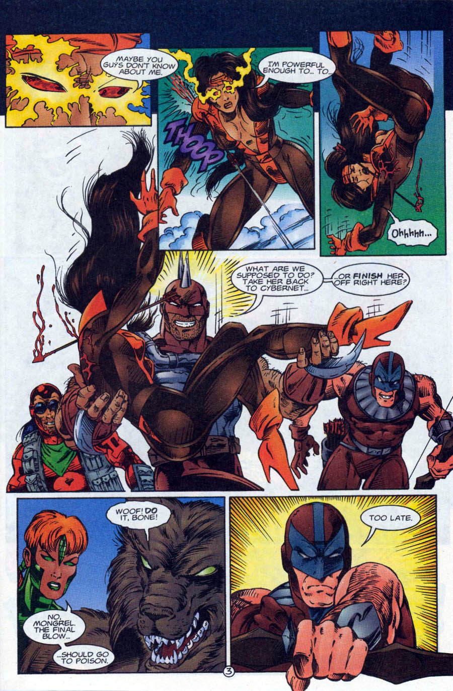 Read online Ex-Mutants comic -  Issue #18 - 4