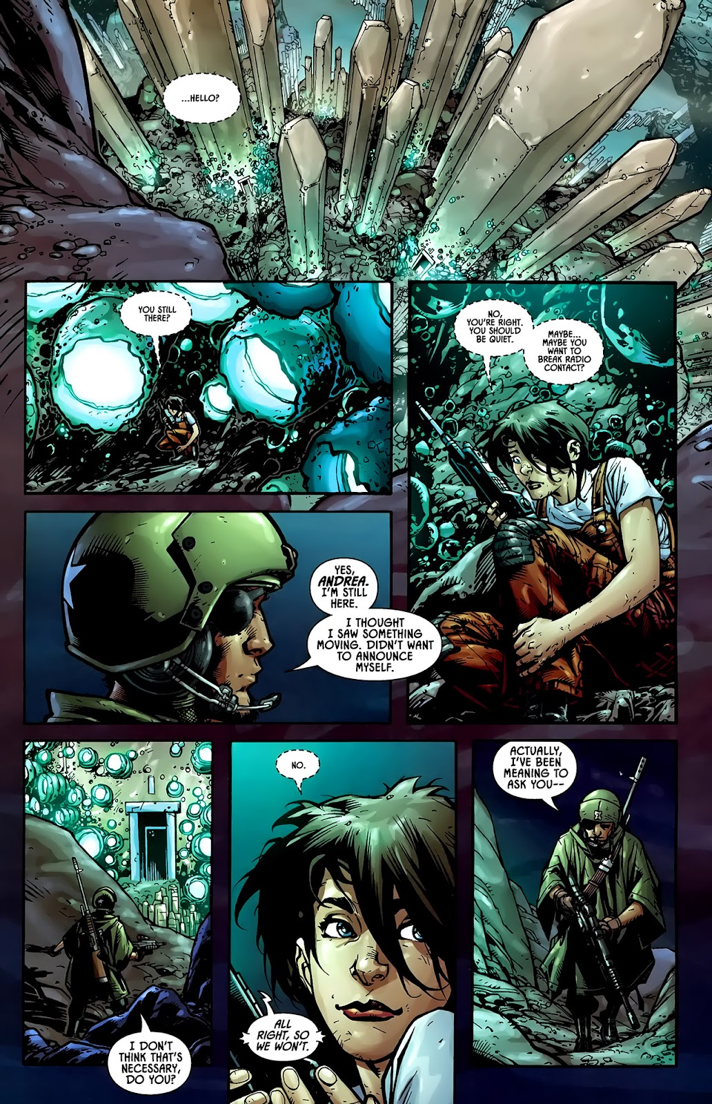 Read online Aliens (2009) comic -  Issue #1 - 4