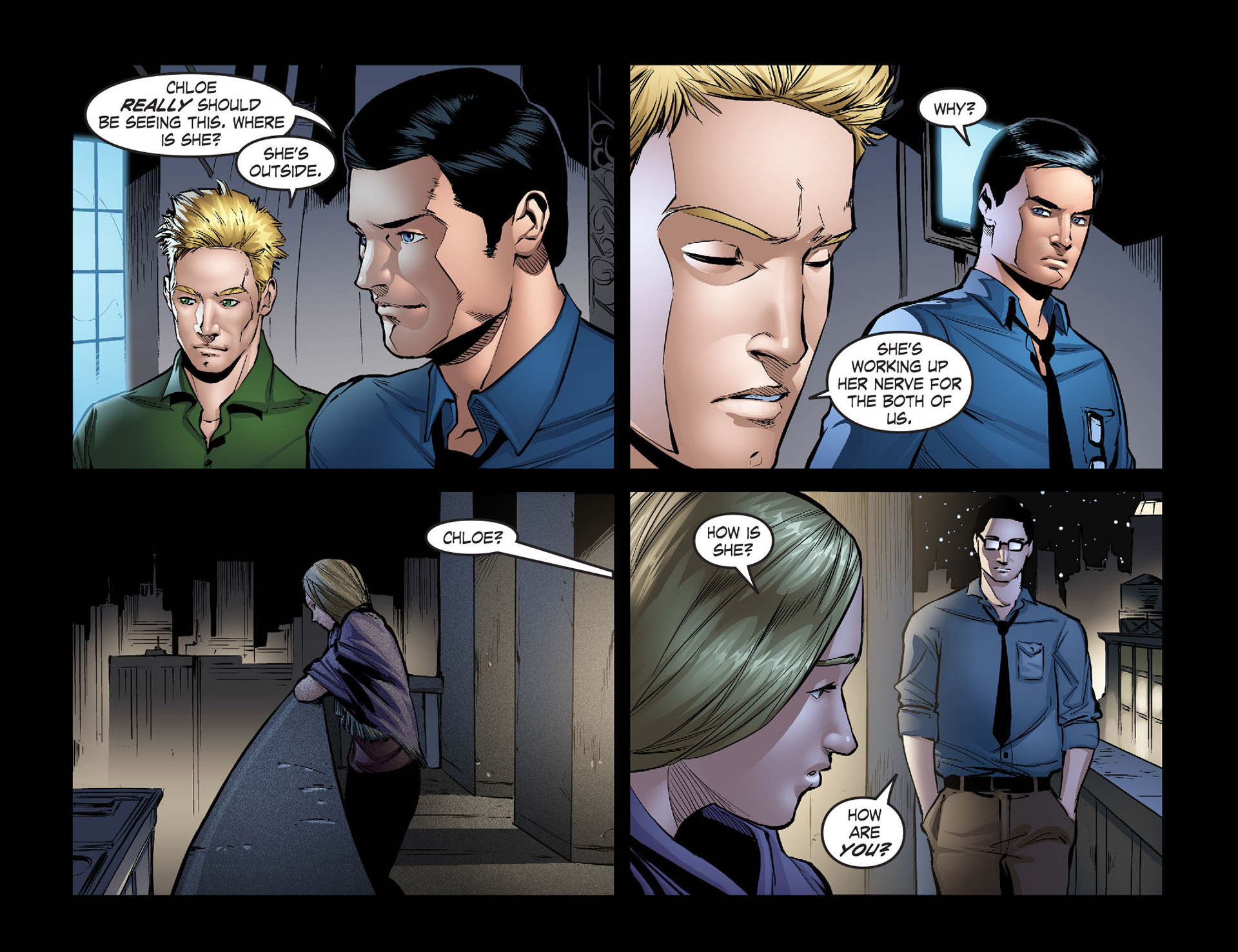 Read online Smallville: Season 11 comic -  Issue #40 - 17