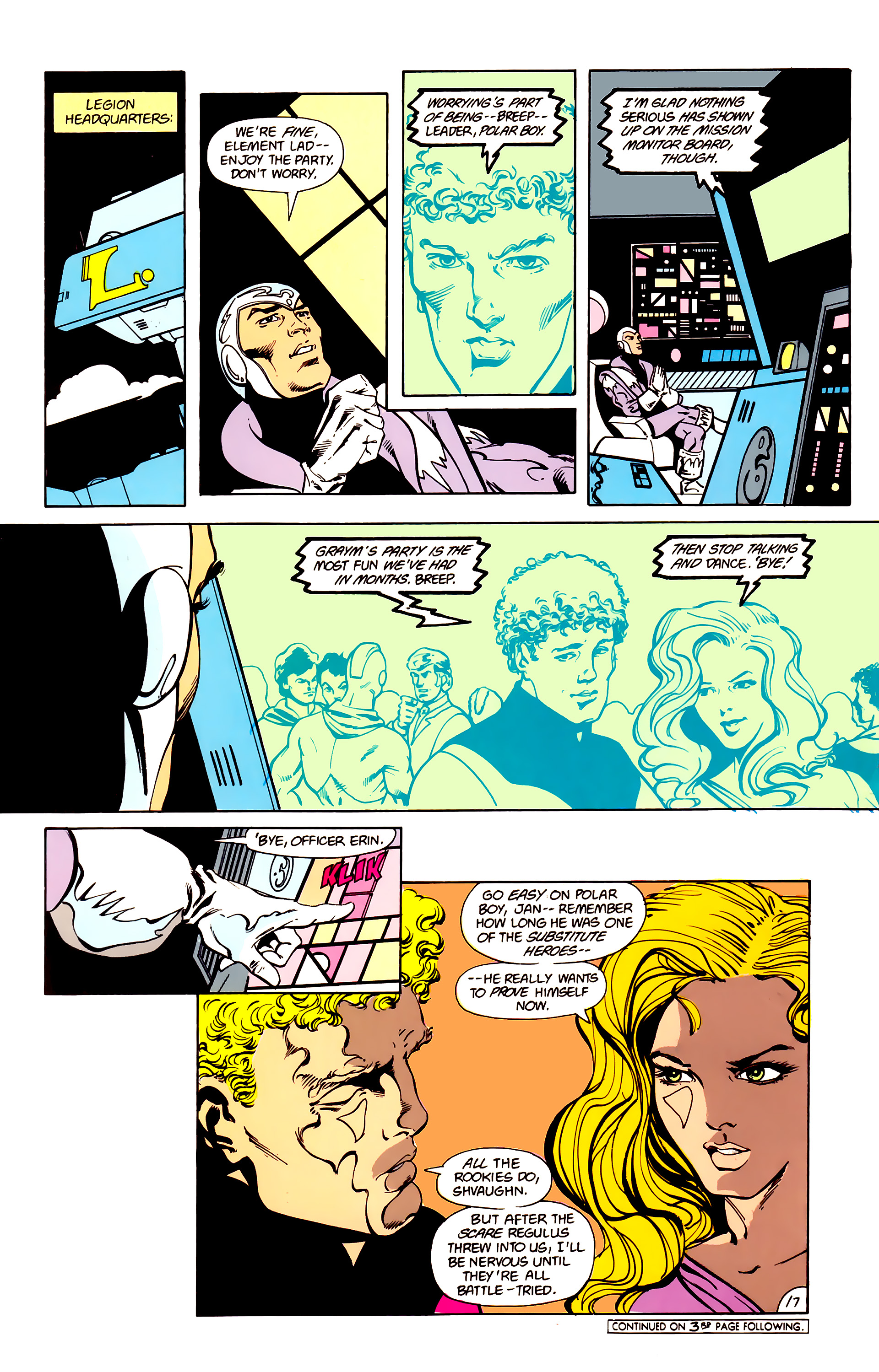 Legion of Super-Heroes (1984) 16 Page 18