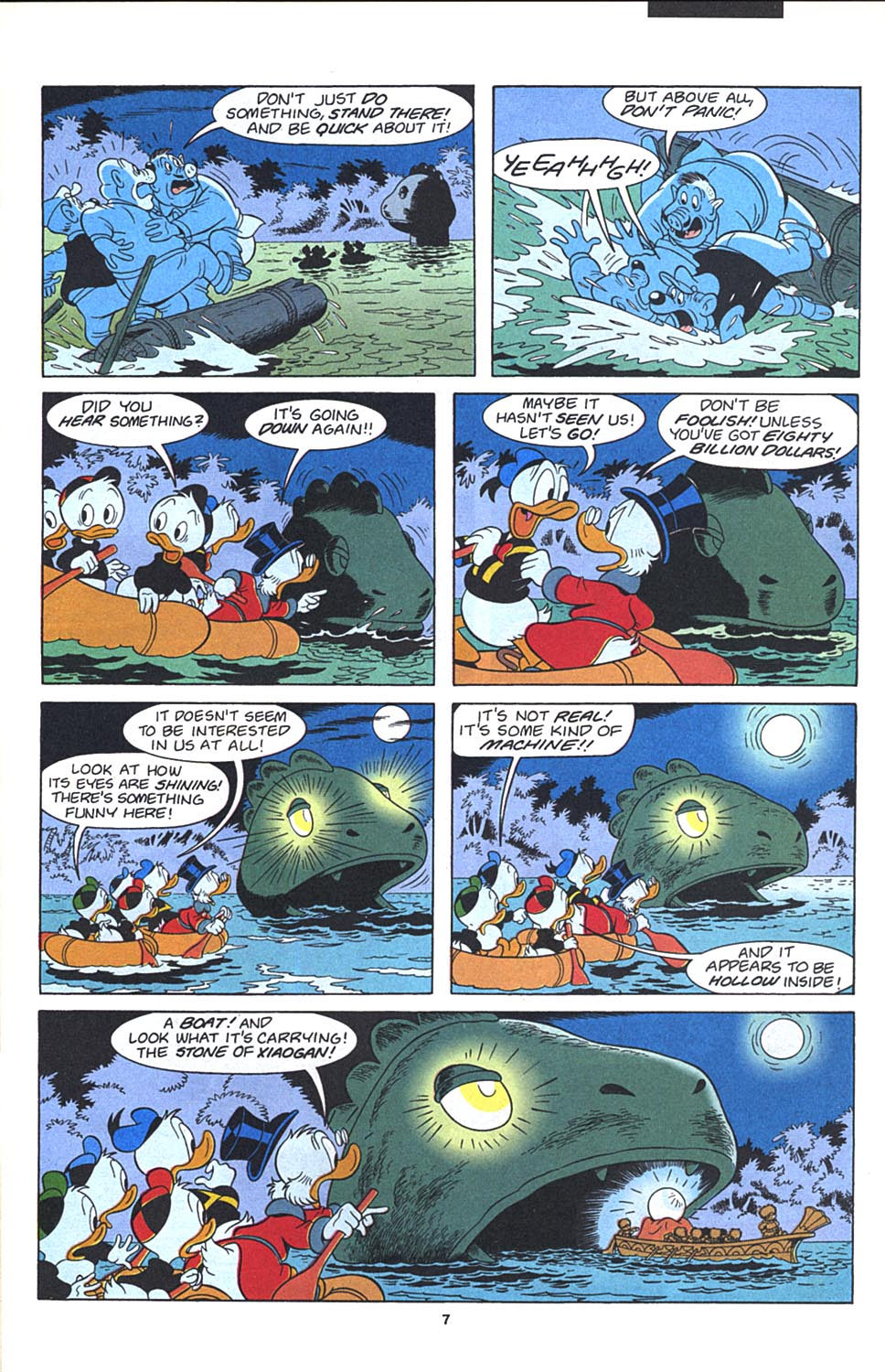 Read online Uncle Scrooge (1953) comic -  Issue #271 - 8