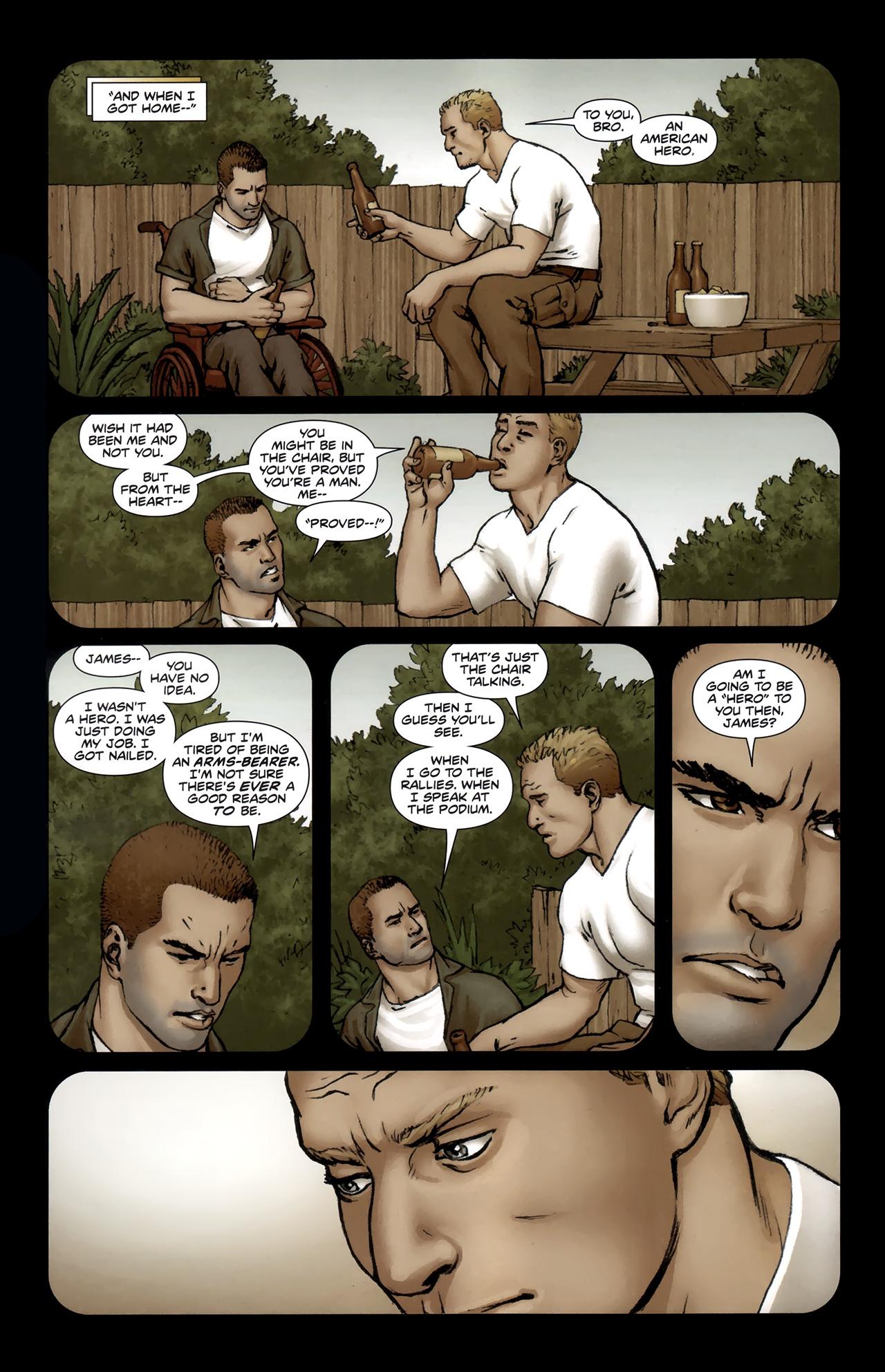 Read online Soldier Zero comic -  Issue #1 - 17