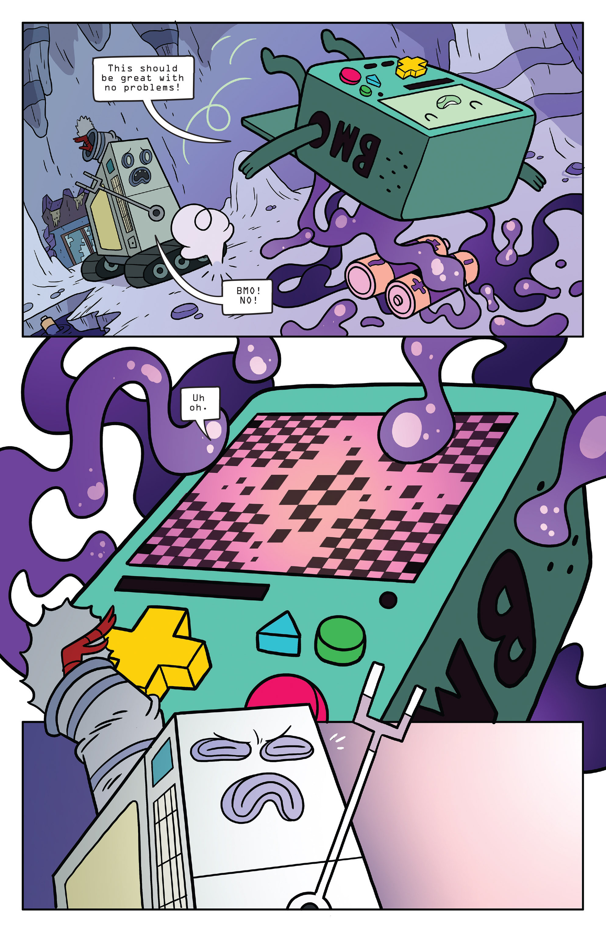 Read online Adventure Time comic -  Issue #56 - 11