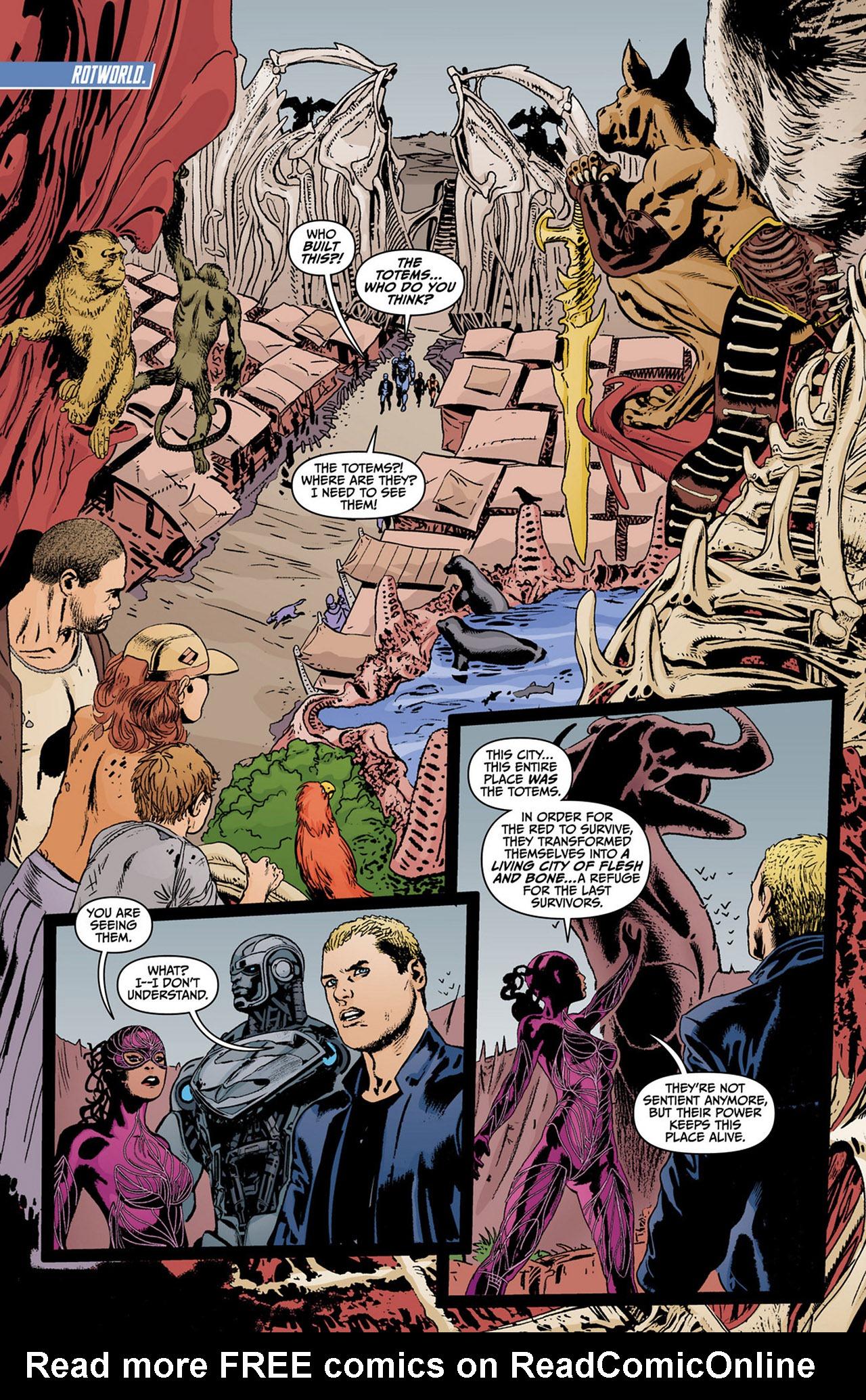 Read online Animal Man (2011) comic -  Issue #13 - 16