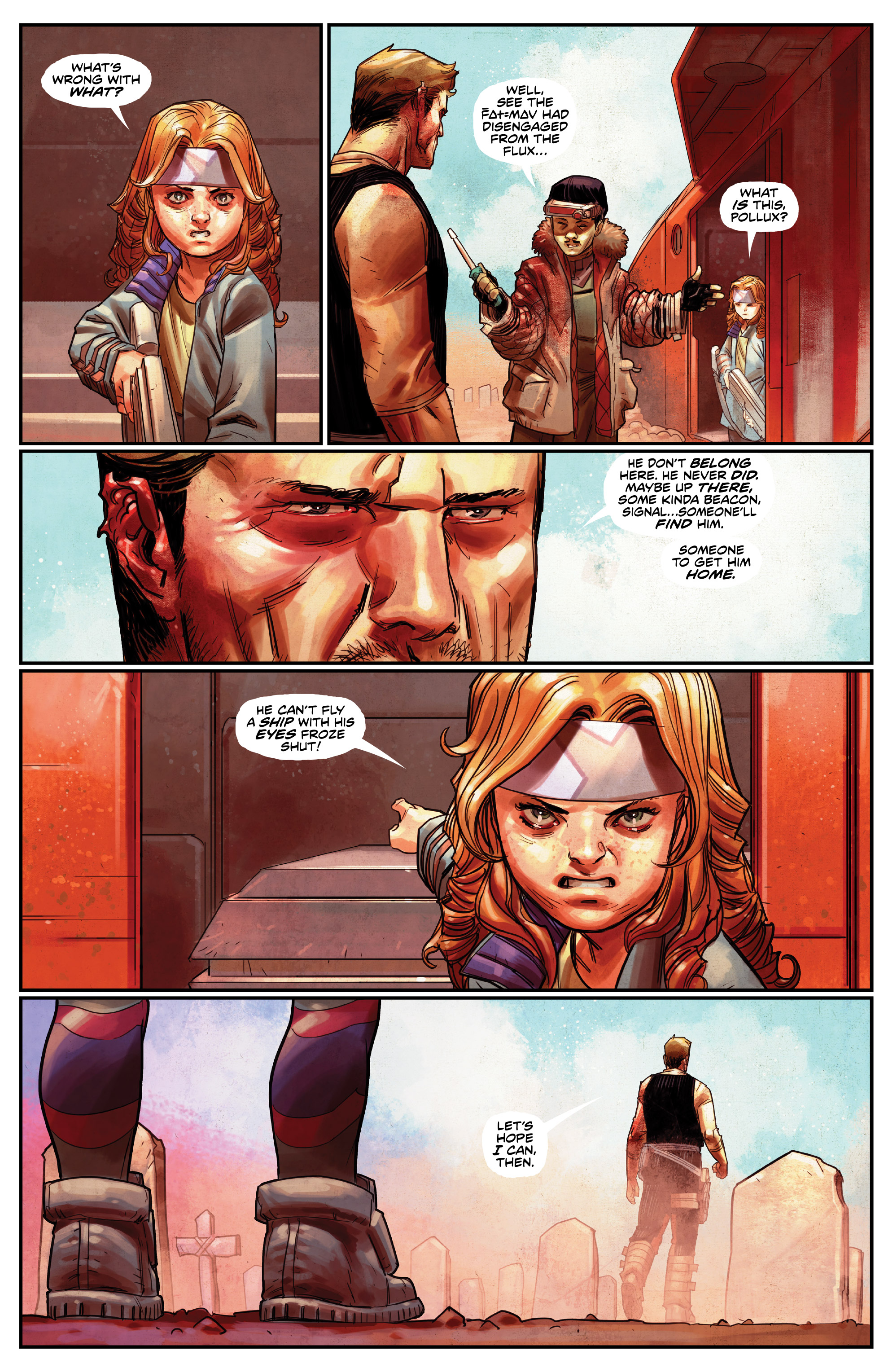 Read online Drifter (2014) comic -  Issue #19 - 15