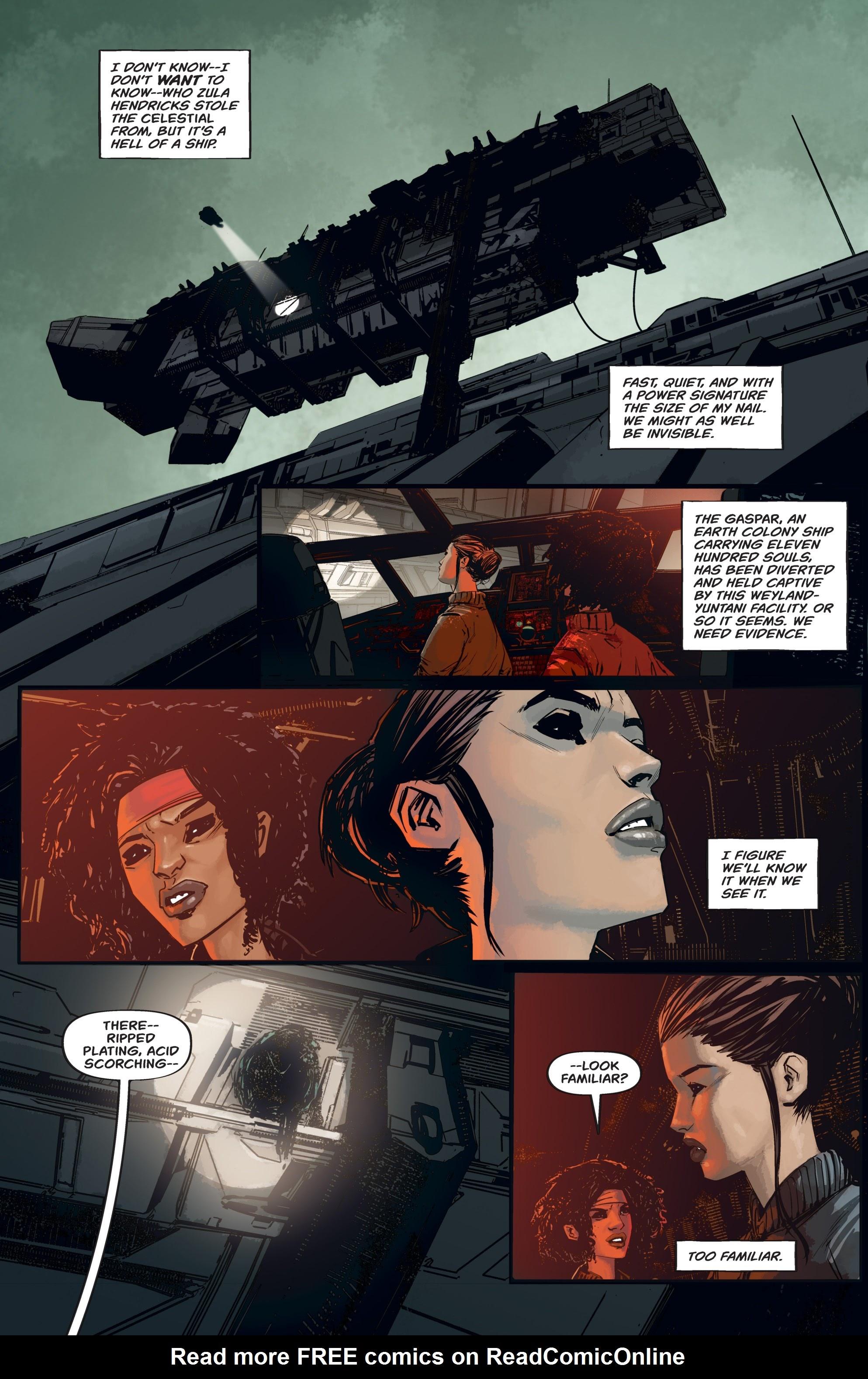 Read online Aliens: Resistance comic -  Issue # _TPB - 32