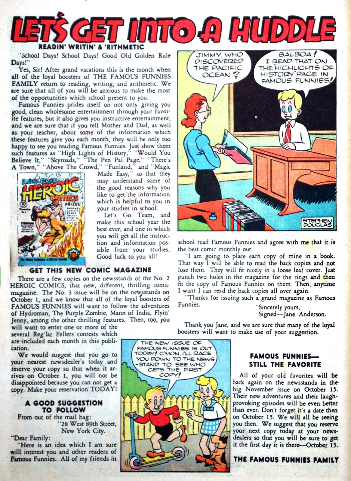 Read online Famous Funnies comic -  Issue #75 - 10