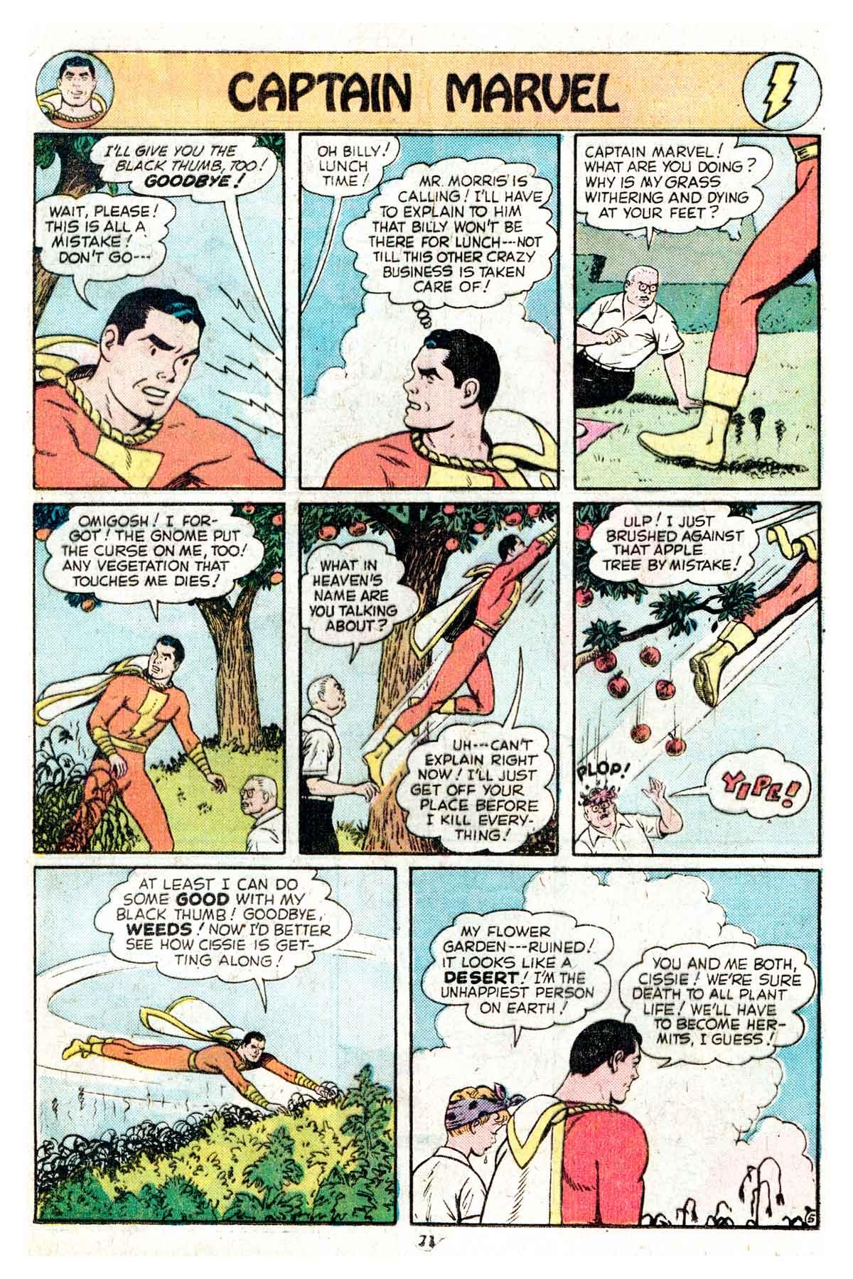 Read online Shazam! (1973) comic -  Issue #17 - 71