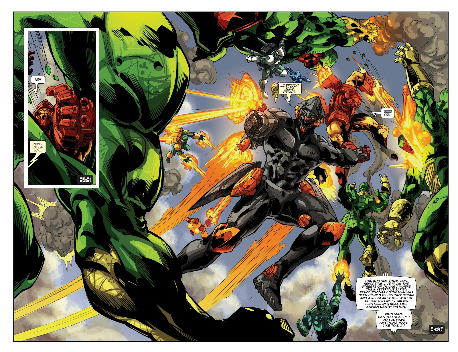 Iron Man: House of M Issue #3 #3 - English 15