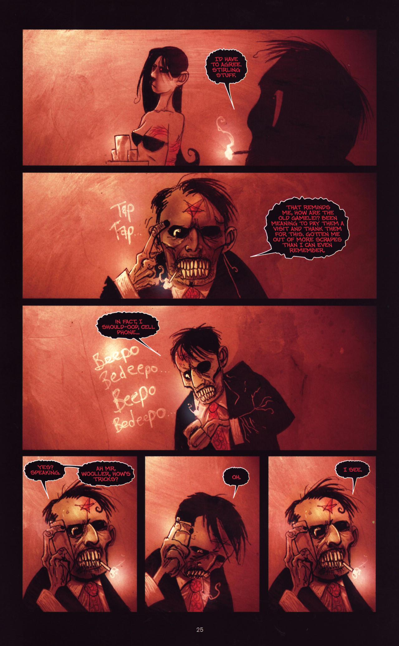 Read online Wormwood: Gentleman Corpse comic -  Issue #8 - 26