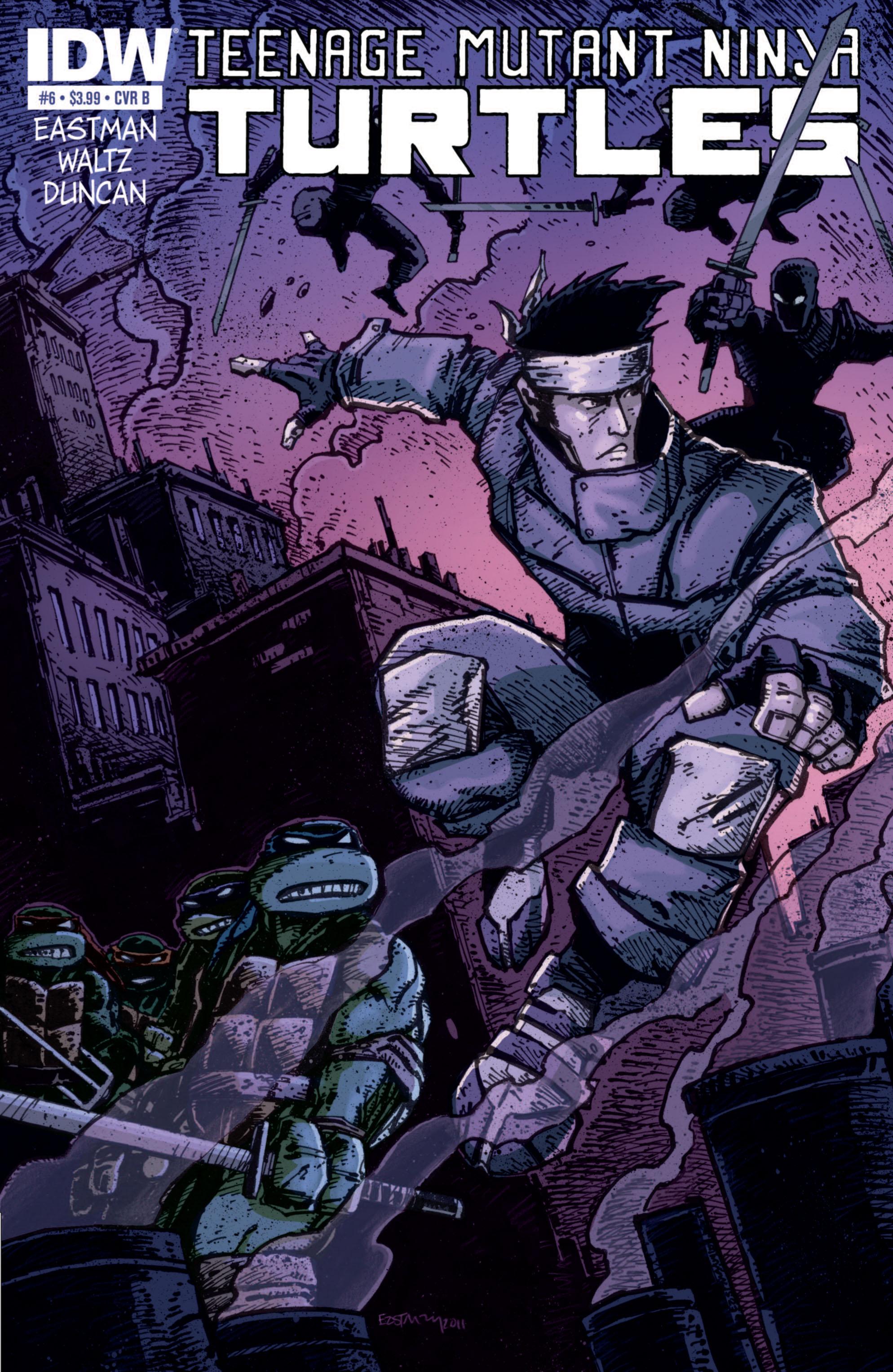 Teenage Mutant Ninja Turtles (2011) 6 Page 2