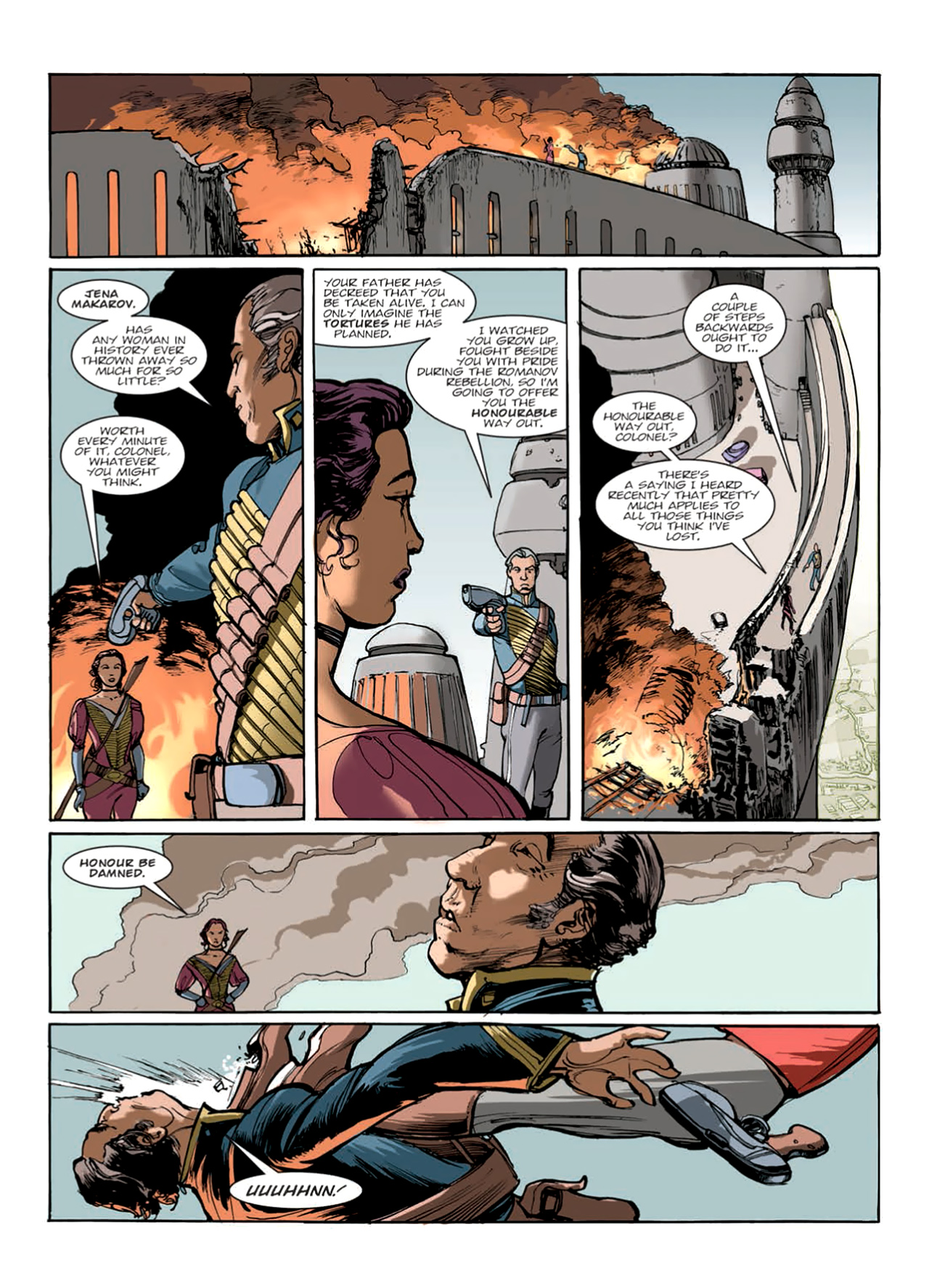 Read online Nikolai Dante comic -  Issue # TPB 9 - 122