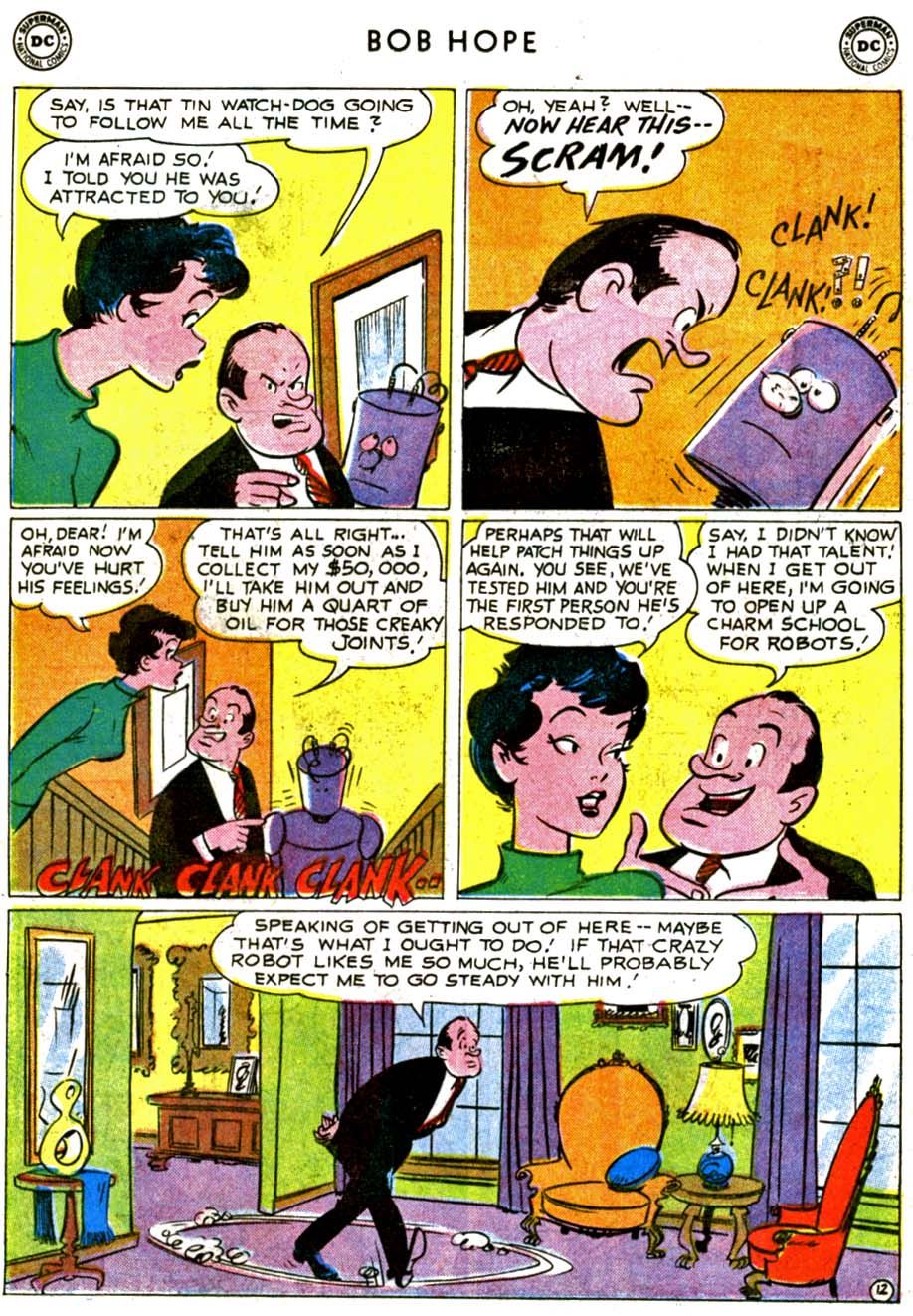 The Adventures of Bob Hope issue 68 - Page 16