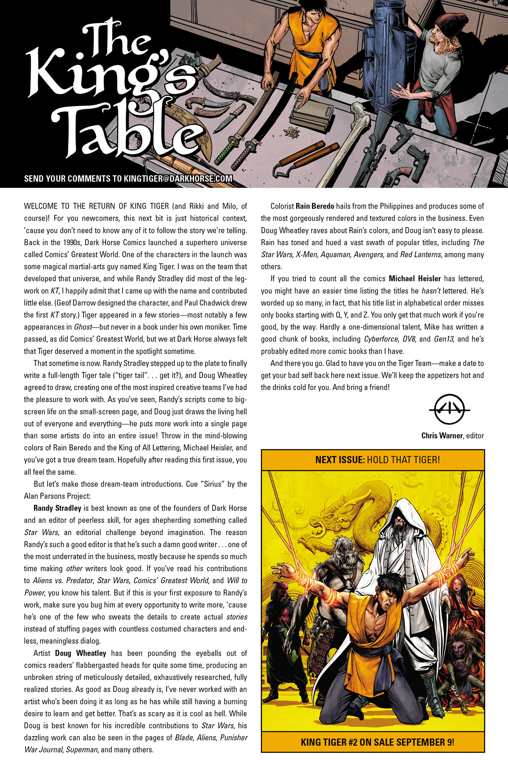 Read online King Tiger comic -  Issue #1 - 25