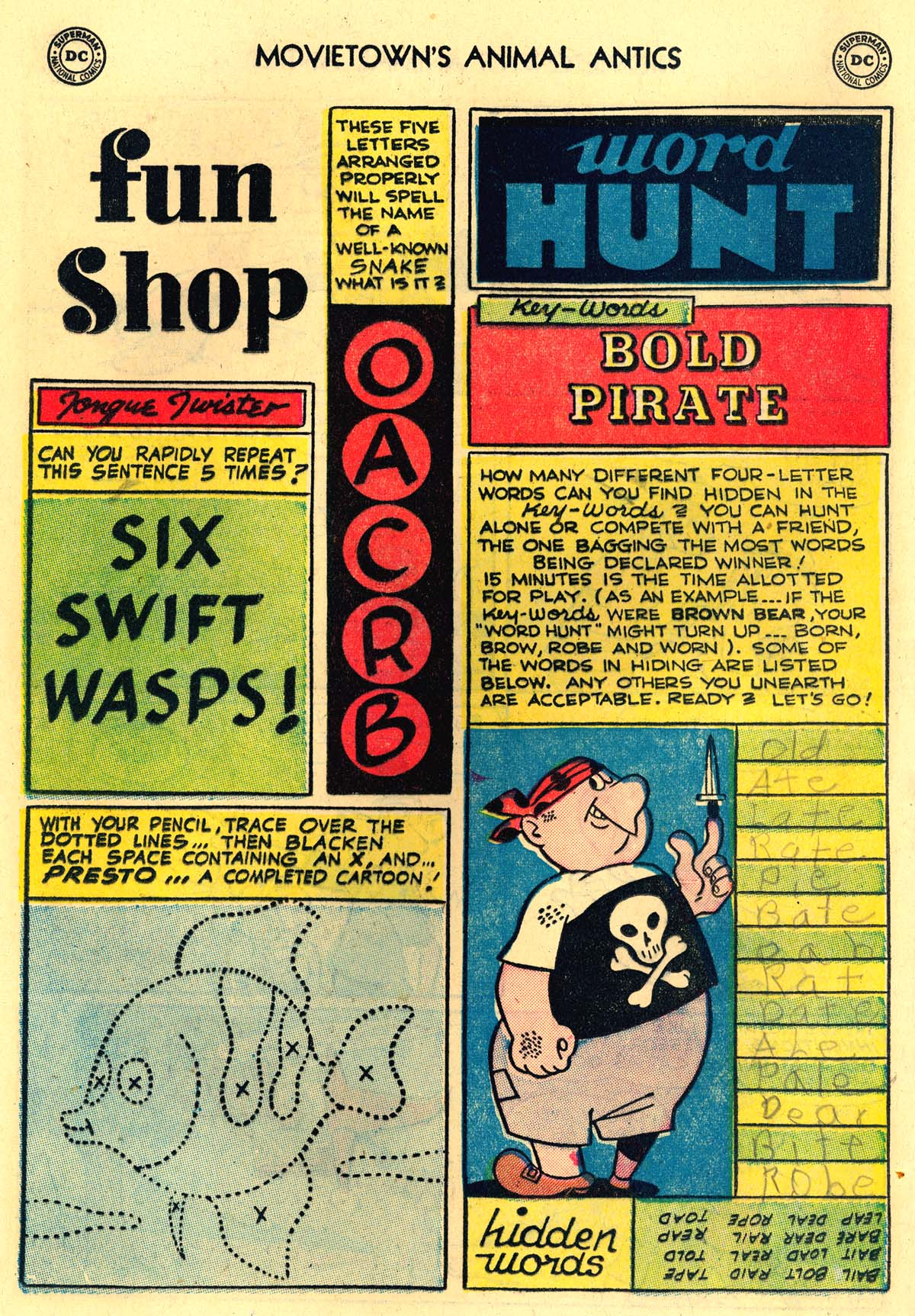 Read online Animal Antics comic -  Issue #47 - 12