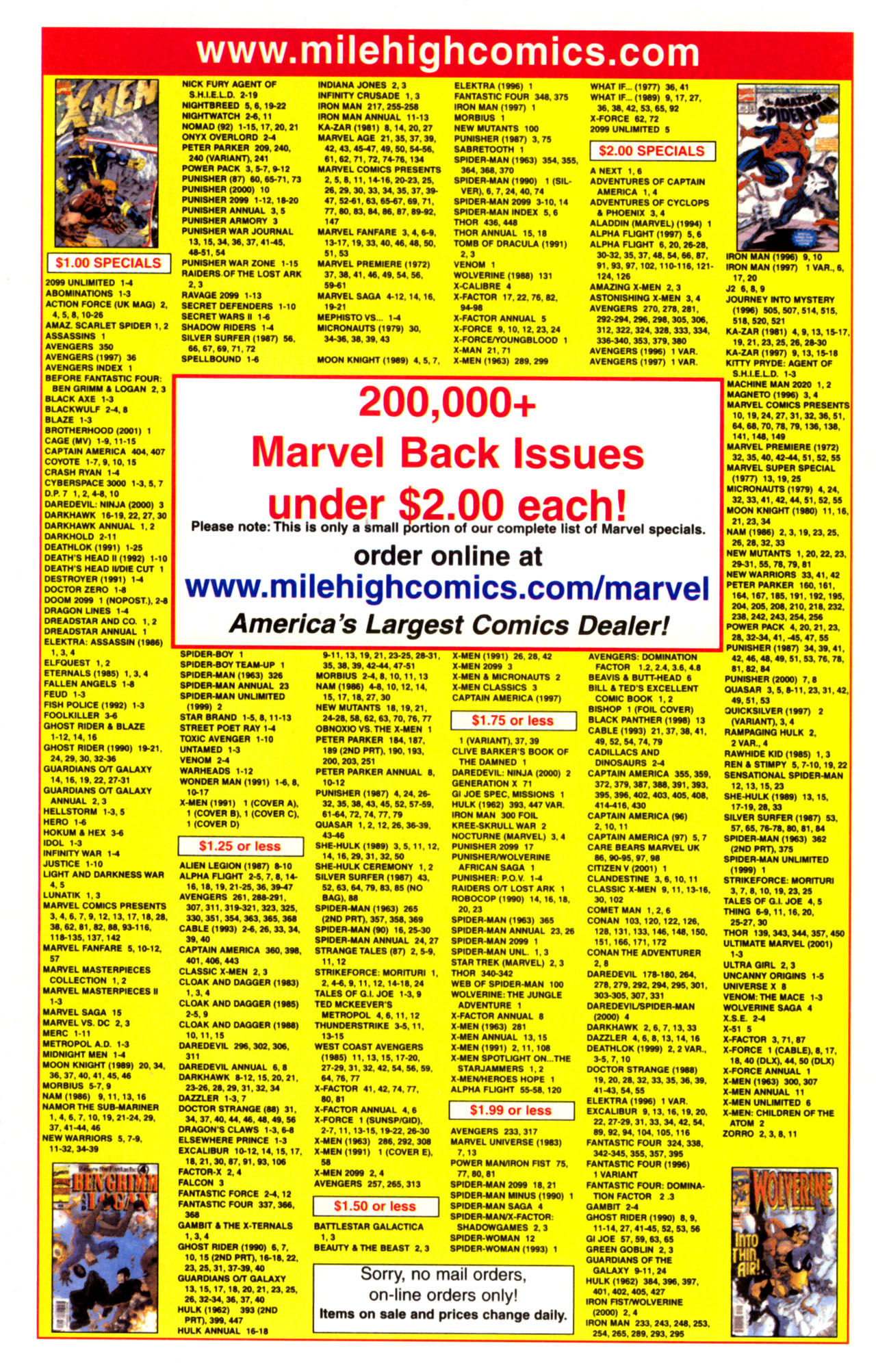 Read online Ultimate Marvel Team-Up comic -  Issue #7 - 23