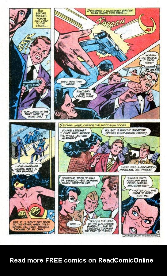 Read online Wonder Woman (1942) comic -  Issue #255 - 6