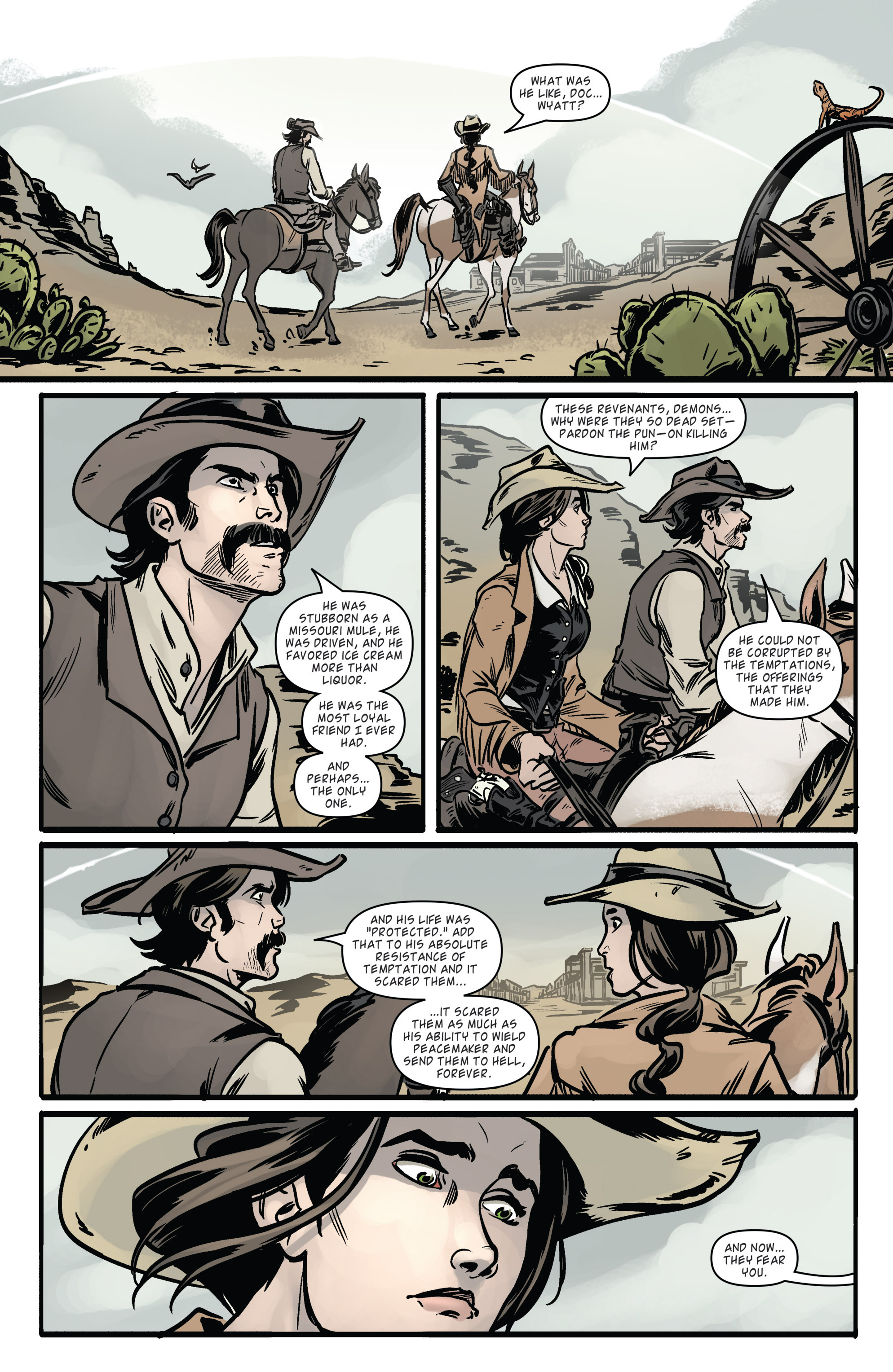 Read online Wynonna Earp (2016) comic -  Issue #6 - 6
