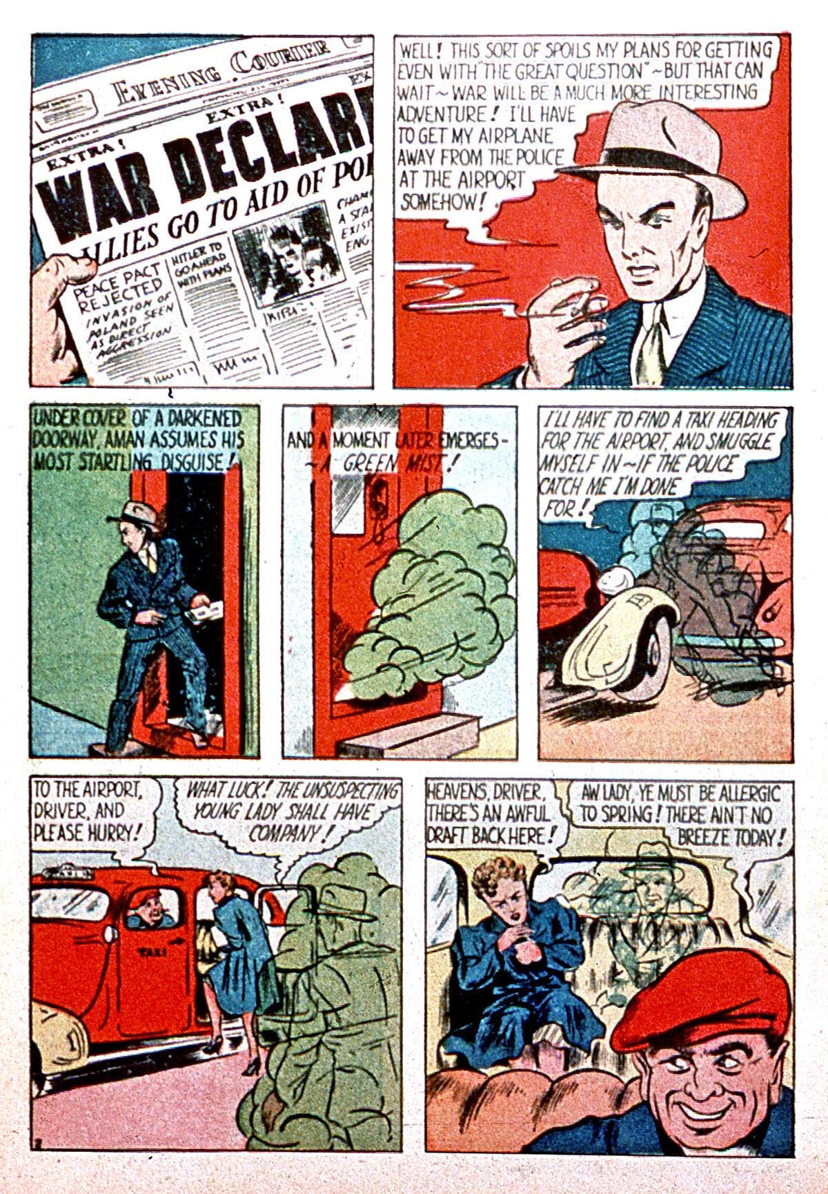 Read online Amazing Man Comics comic -  Issue #8 - 4