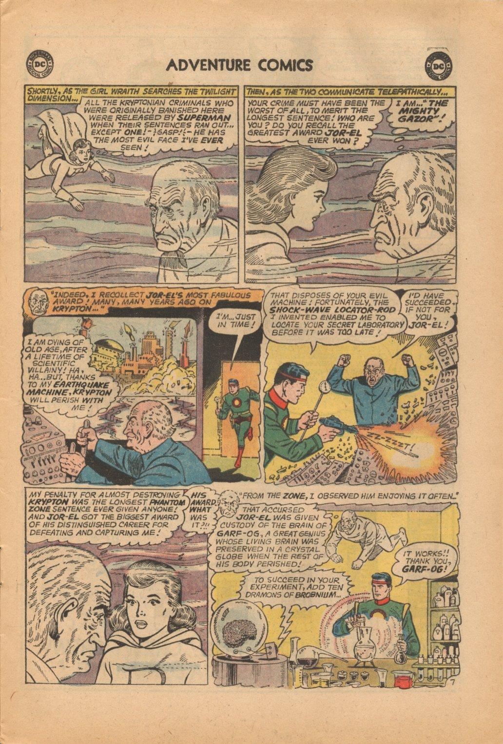 Read online Adventure Comics (1938) comic -  Issue #323 - 9