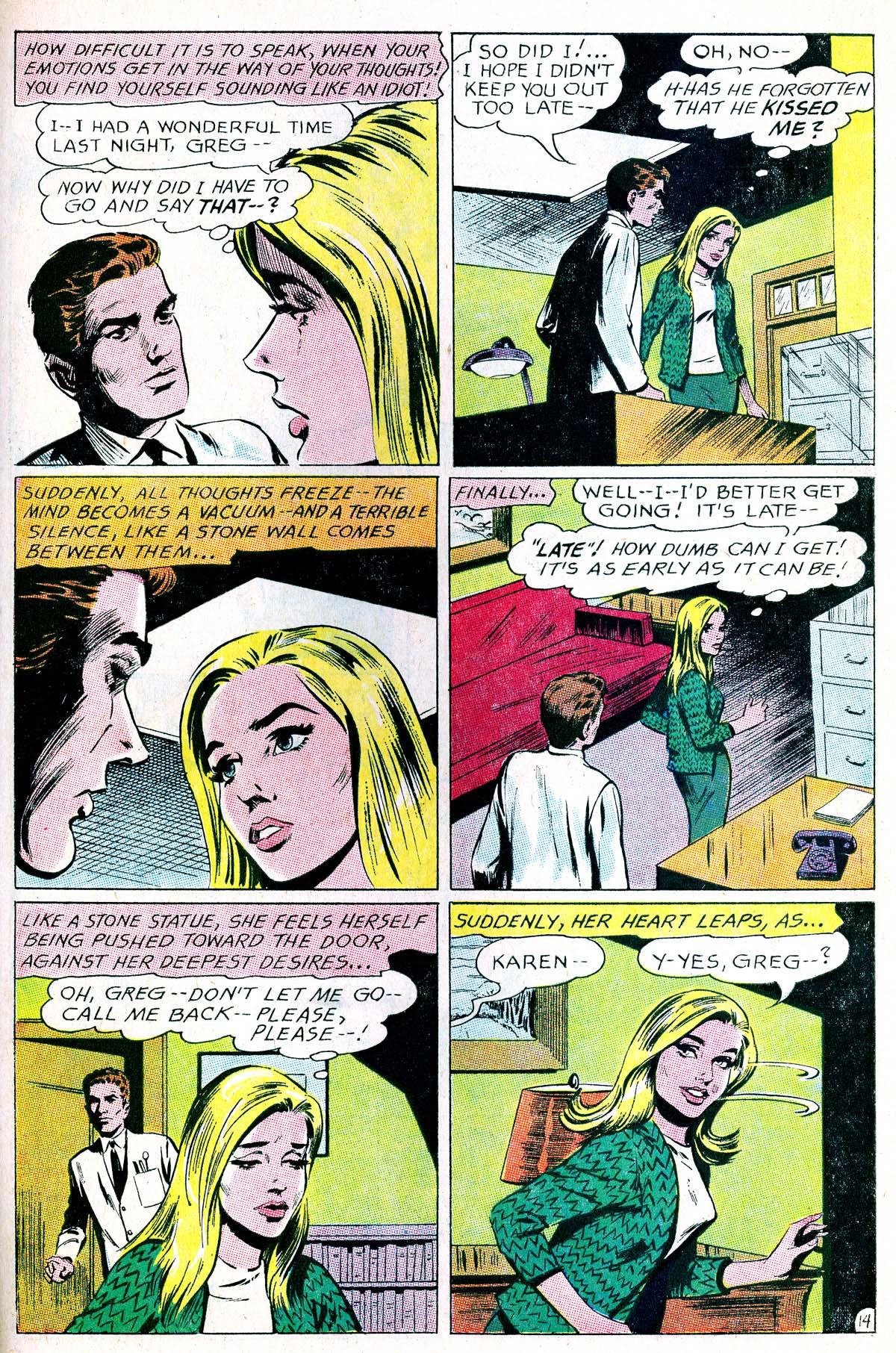 Read online Secret Hearts comic -  Issue #114 - 31