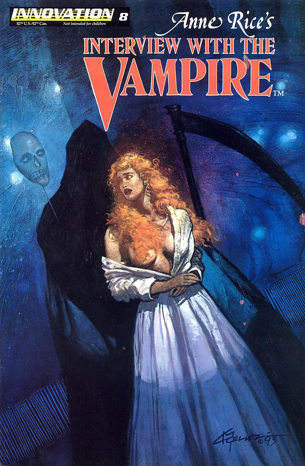Read online Anne Rice's Interview with the Vampire comic -  Issue #8 - 1