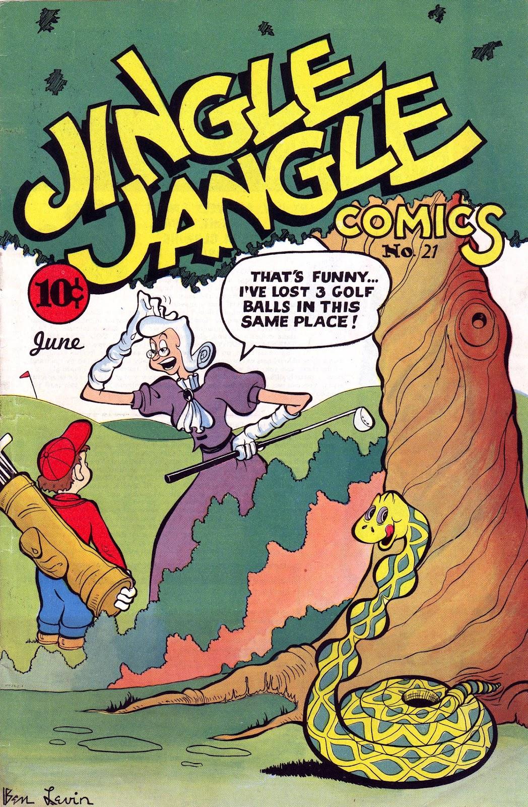 Jingle Jangle Comics issue 21 - Page 1