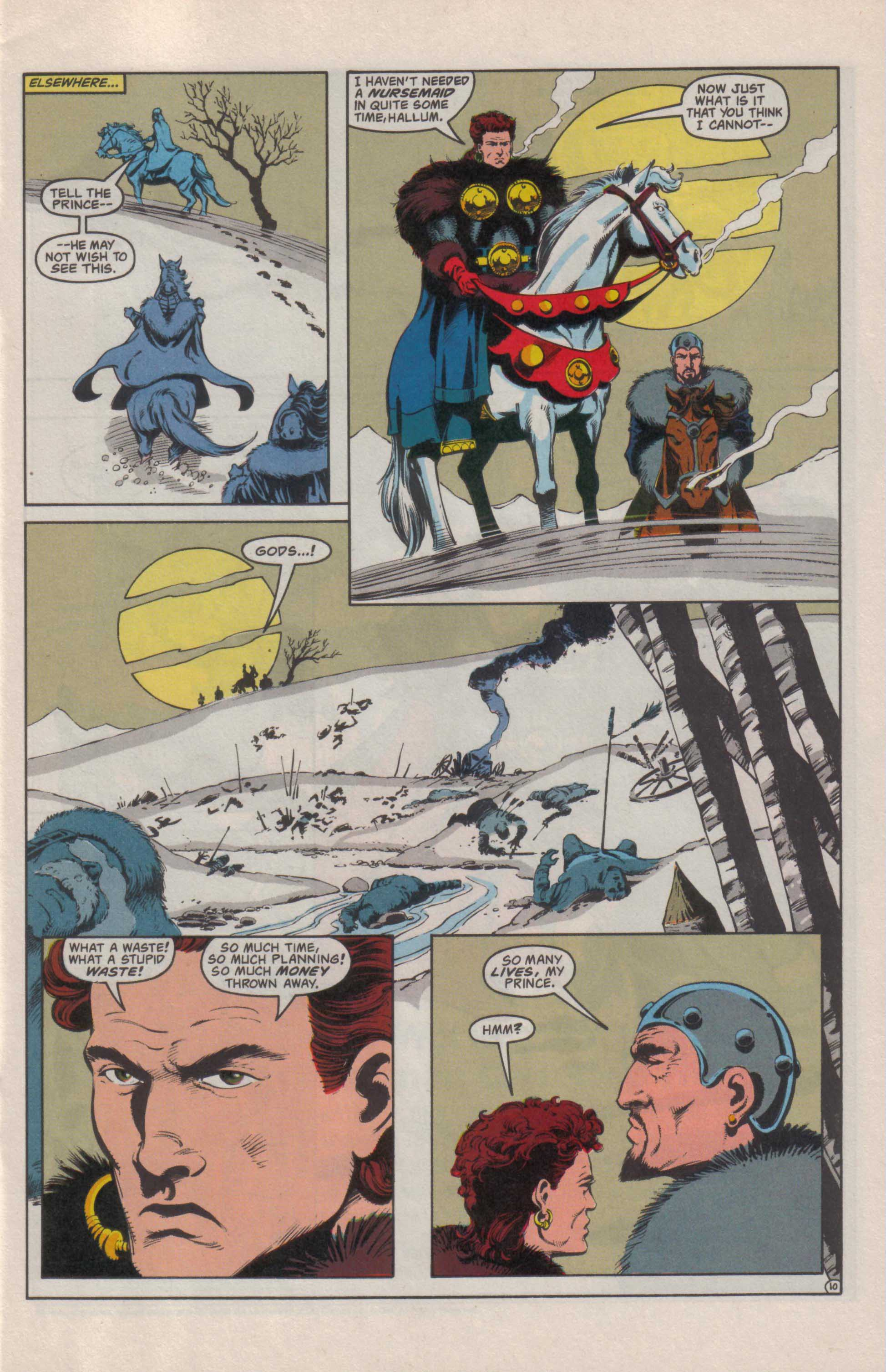 Read online Advanced Dungeons & Dragons comic -  Issue #25 - 11