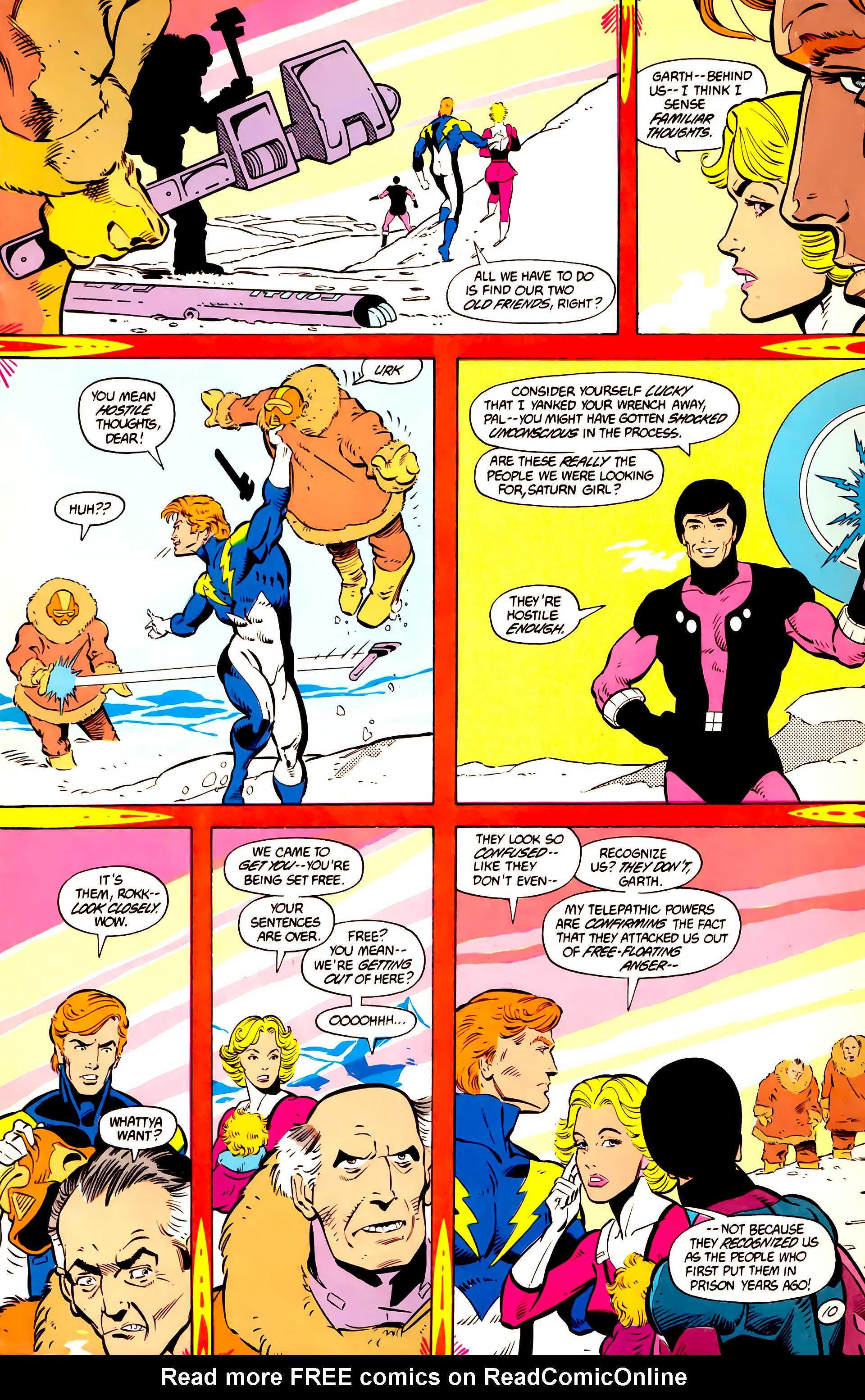 Legion of Super-Heroes (1984) 11 Page 11