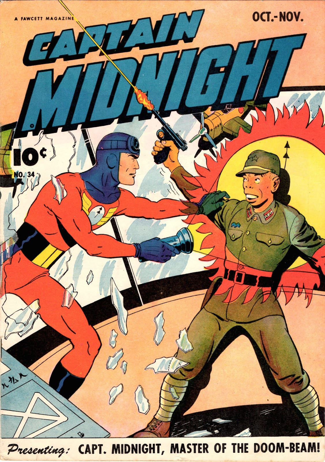 Captain Midnight (1942) issue 34 - Page 1