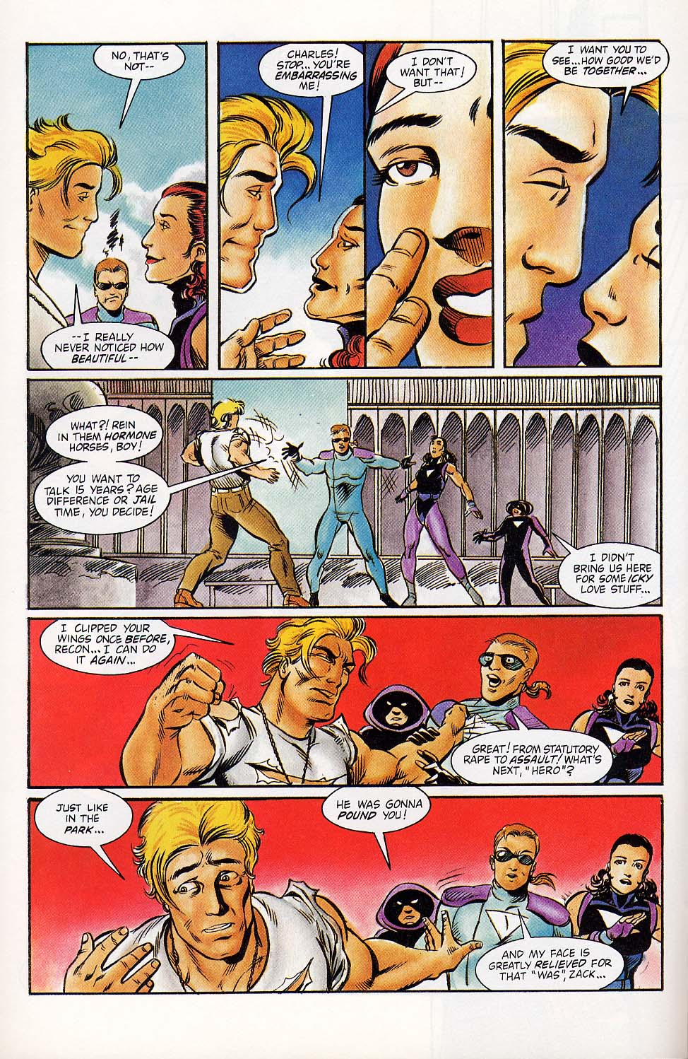 Read online Charlemagne comic -  Issue #4 - 17