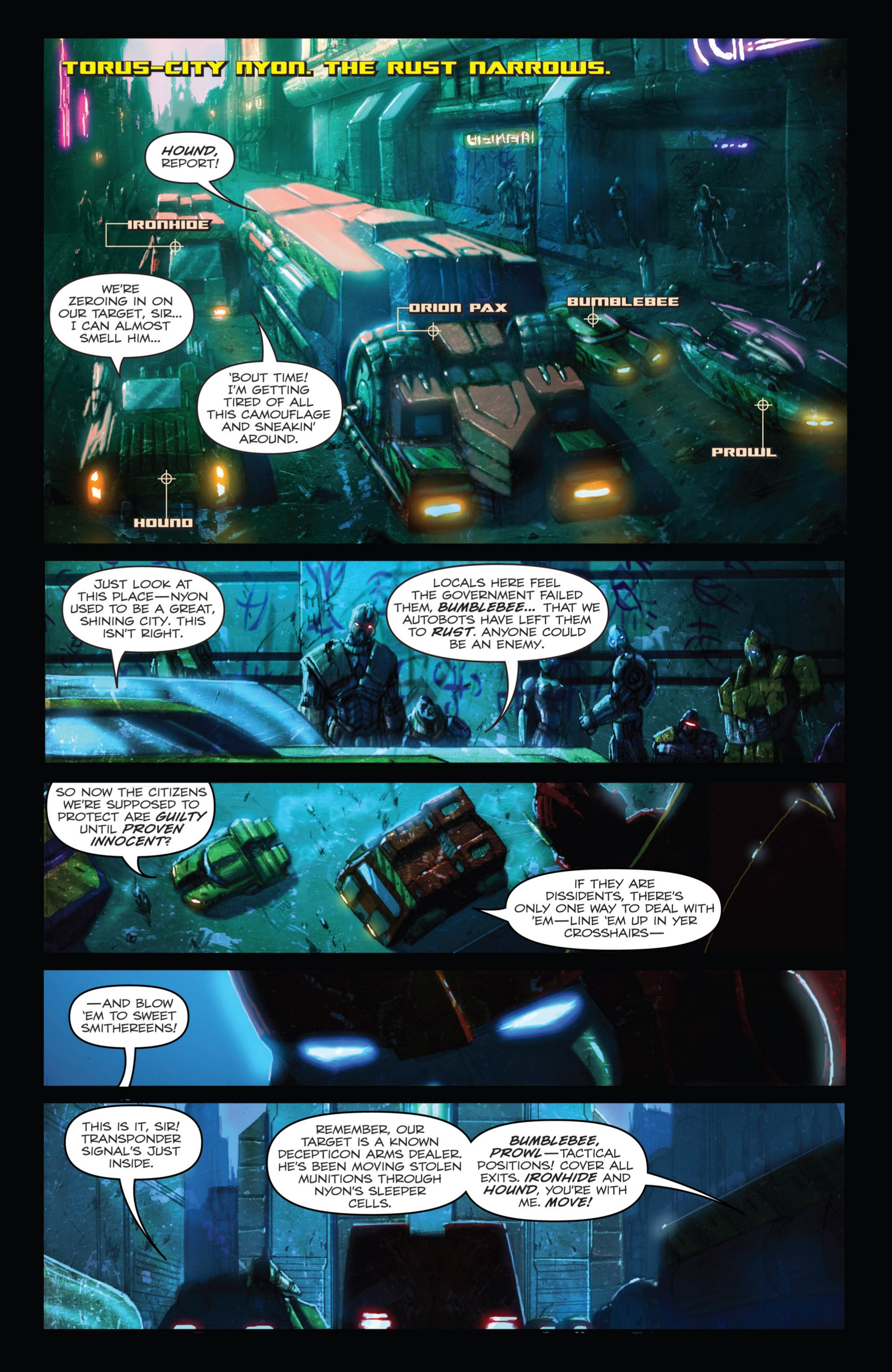 Read online Transformers: Autocracy comic -  Issue # Full - 9