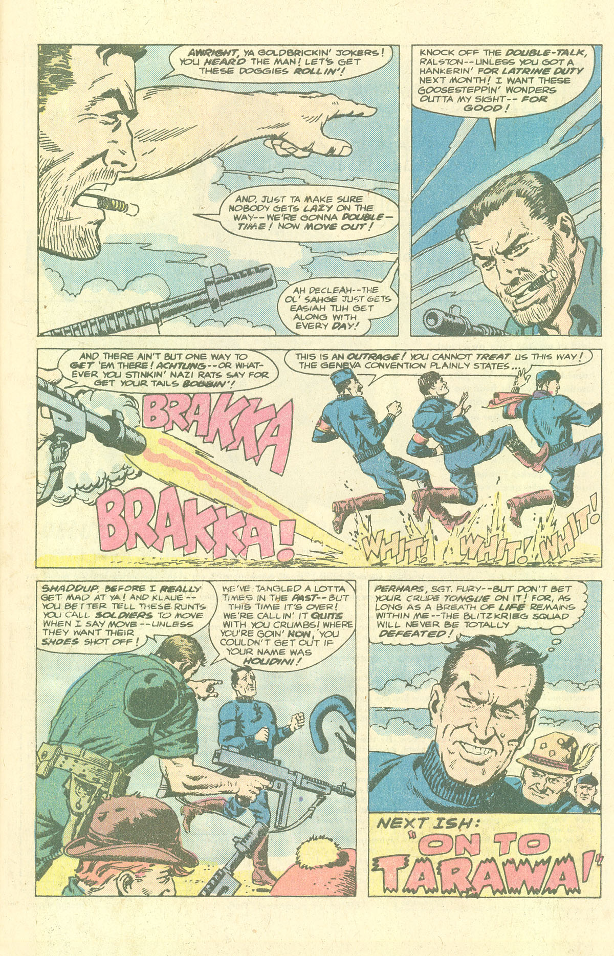 Read online Sgt. Fury comic -  Issue #143 - 33