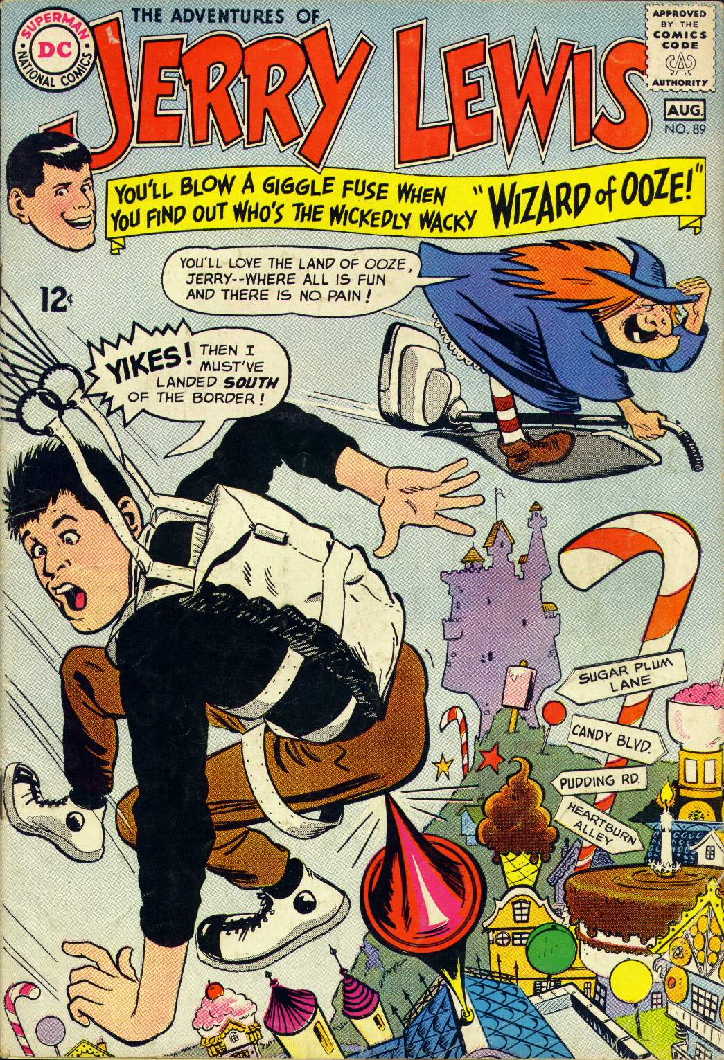 The Adventures of Jerry Lewis issue 89 - Page 1