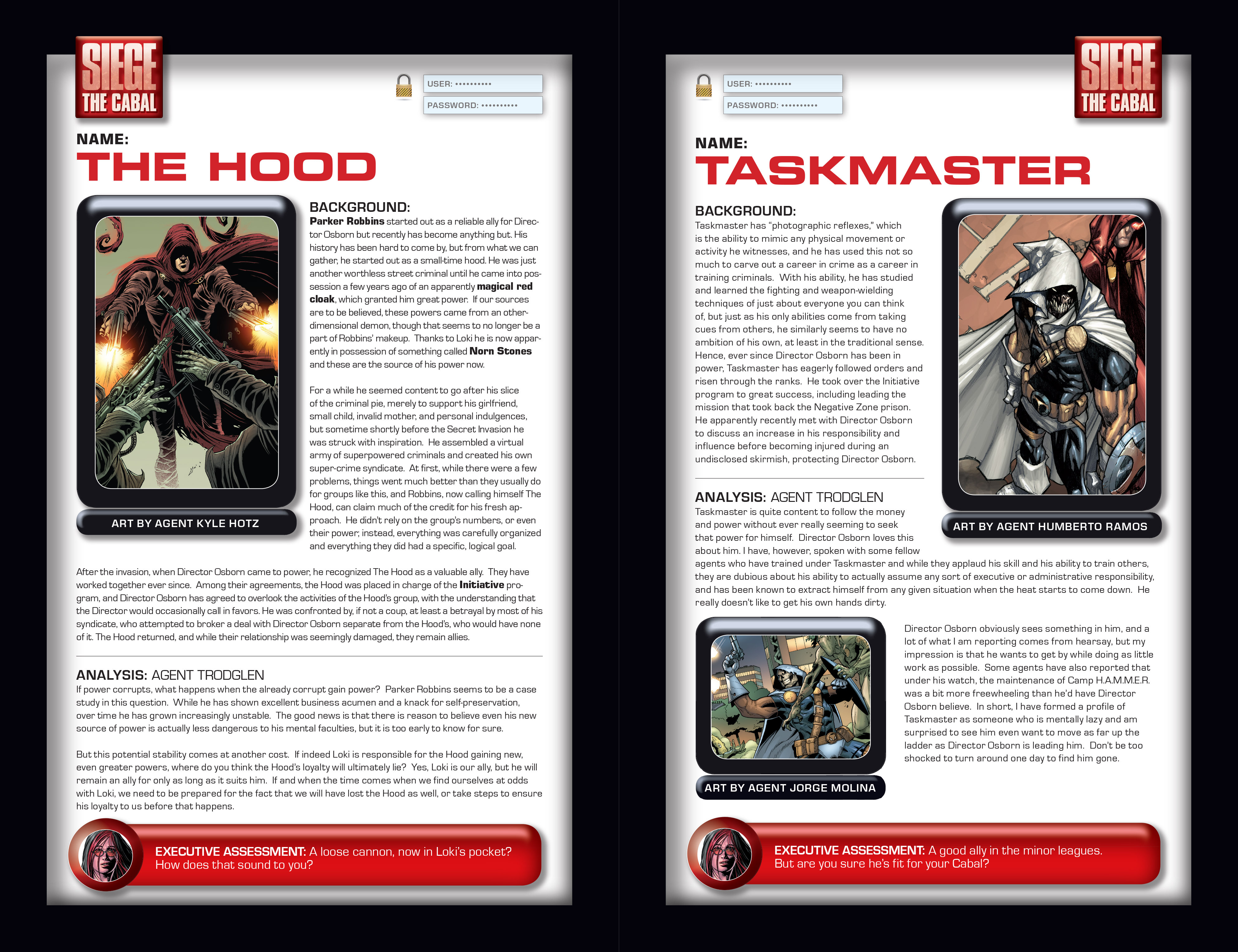 Read online Siege: Storming Asgard - Heroes and Villains comic -  Issue # Full - 4