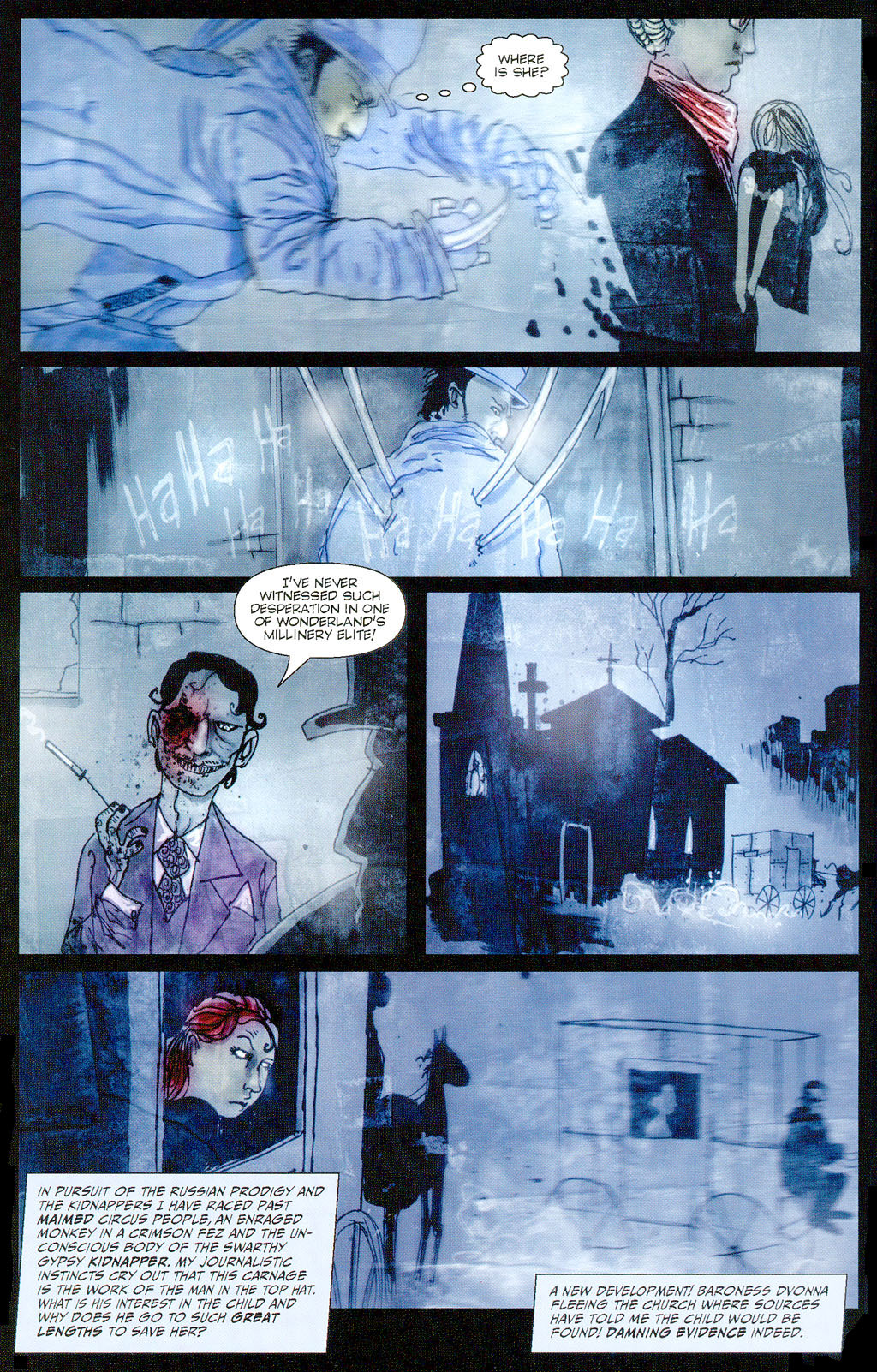 Hatter M: The Looking Glass Wars #2 - Read Hatter M: The Looking
