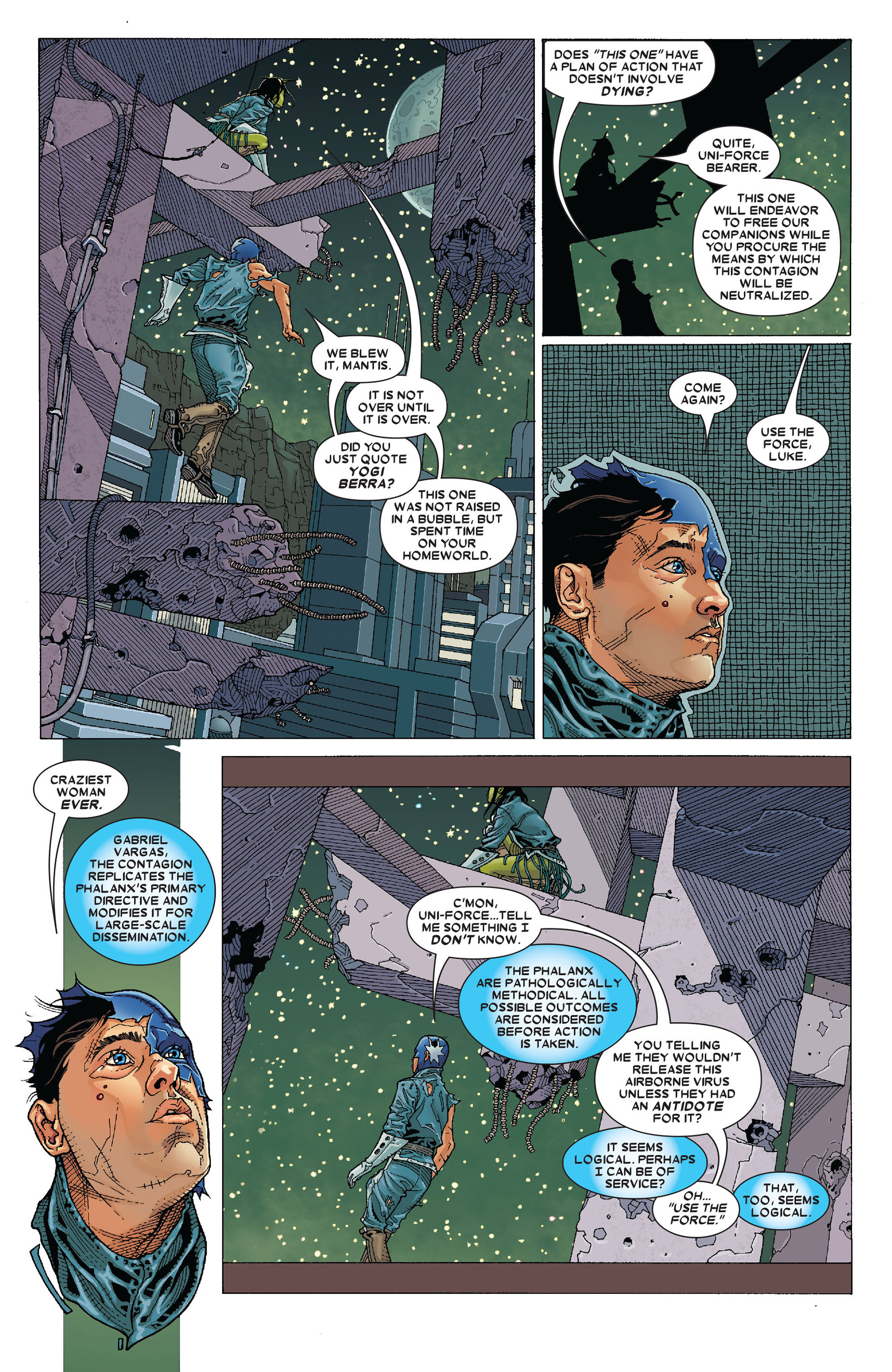 Read online Annihilation: Conquest - Starlord comic -  Issue #4 - 4