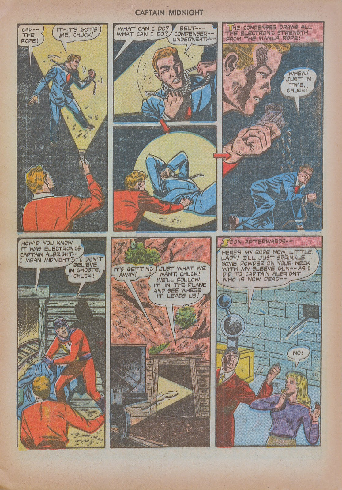 Captain Midnight (1942) issue 20 - Page 21