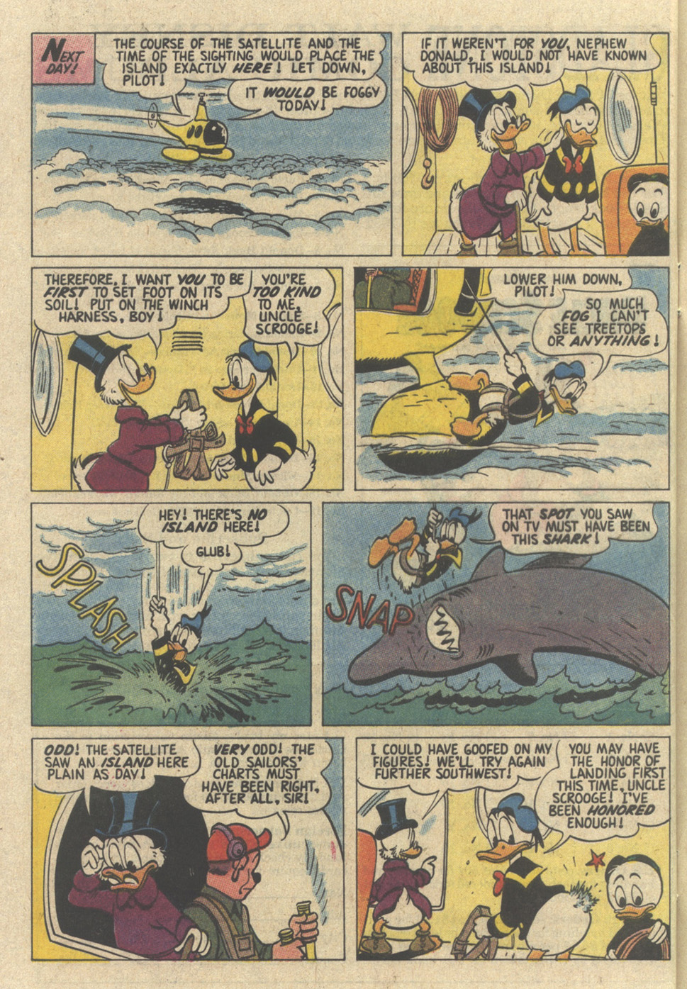 Read online Uncle Scrooge (1953) comic -  Issue #239 - 28