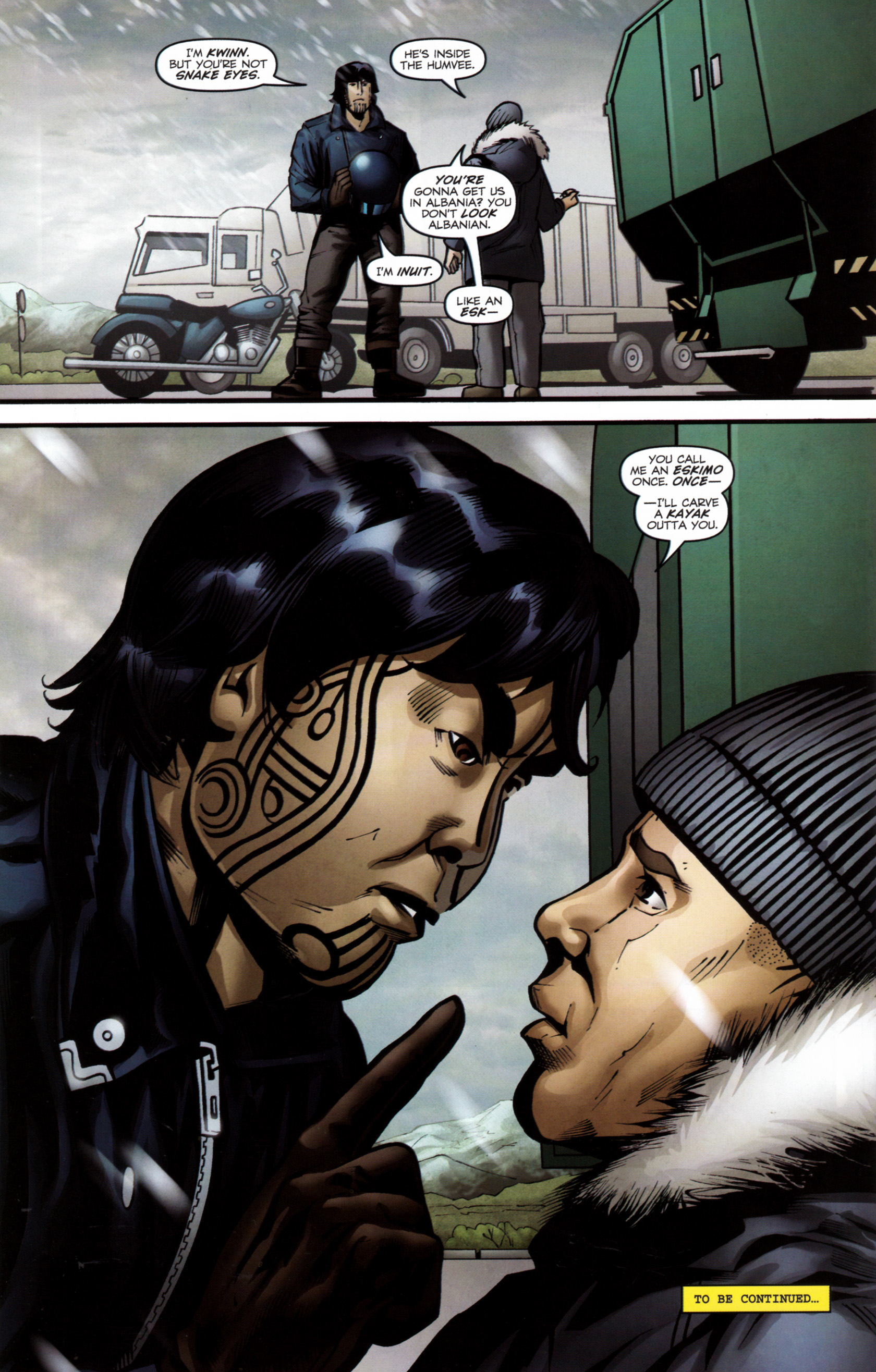 Read online G.I. Joe: Snake Eyes comic -  Issue #6 - 25
