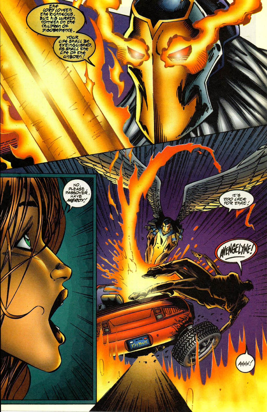 Read online Avengelyne (1996) comic -  Issue #2 - 14