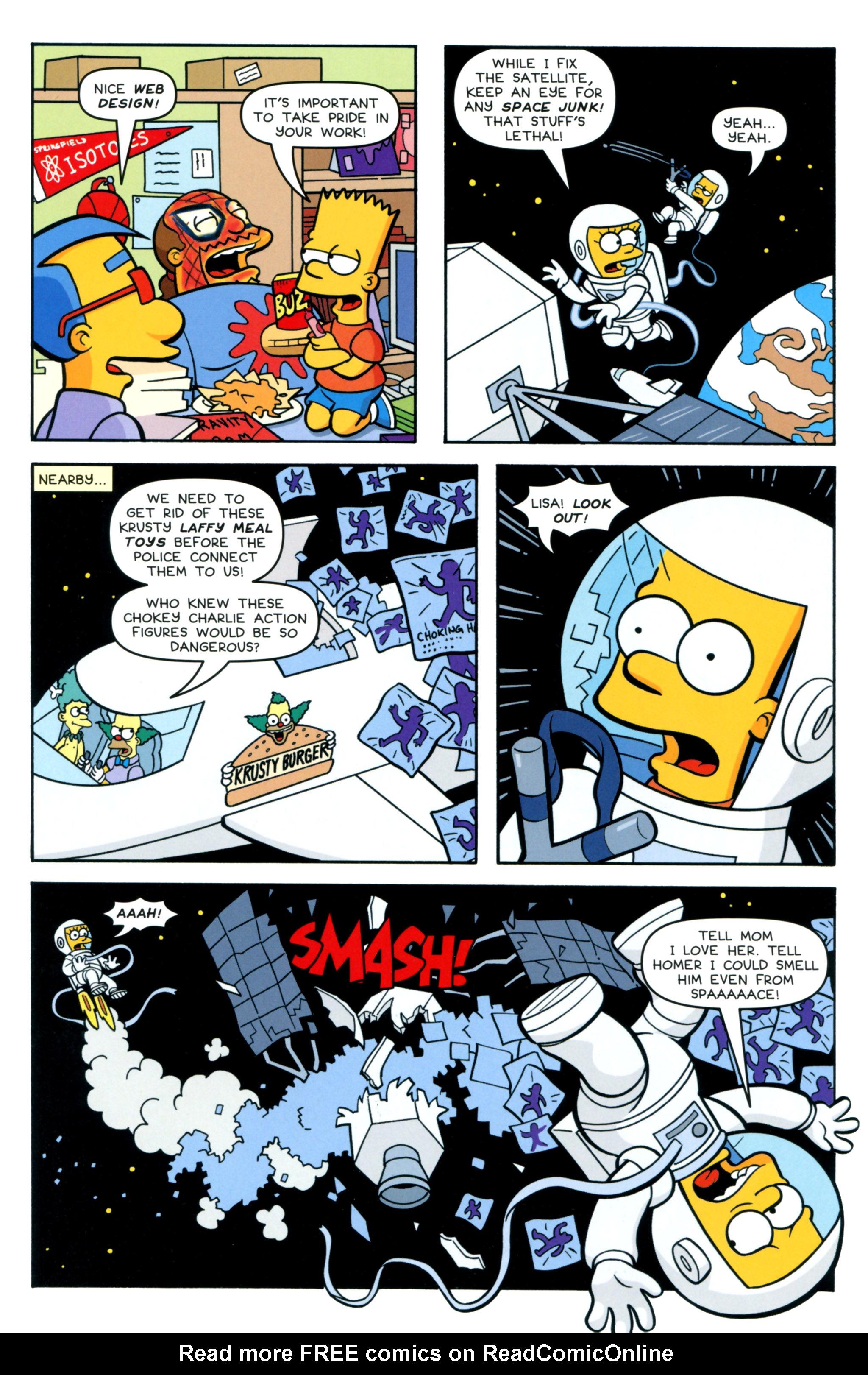 Read online Simpsons Comics comic -  Issue #218 - 24