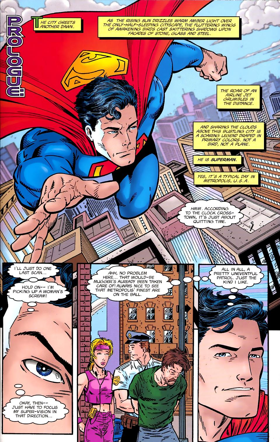Read online Silver Surfer/Superman comic -  Issue # Full - 3
