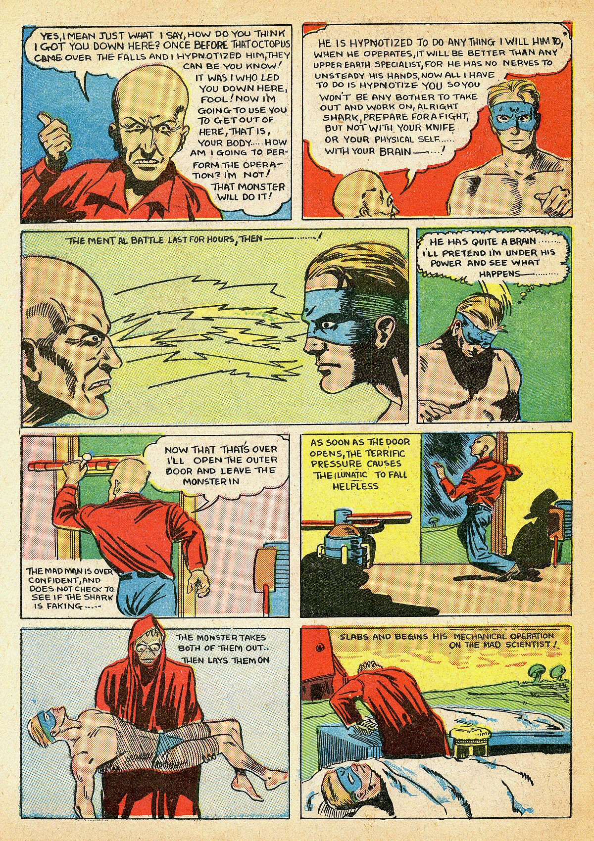Read online Amazing Man Comics comic -  Issue #10 - 65