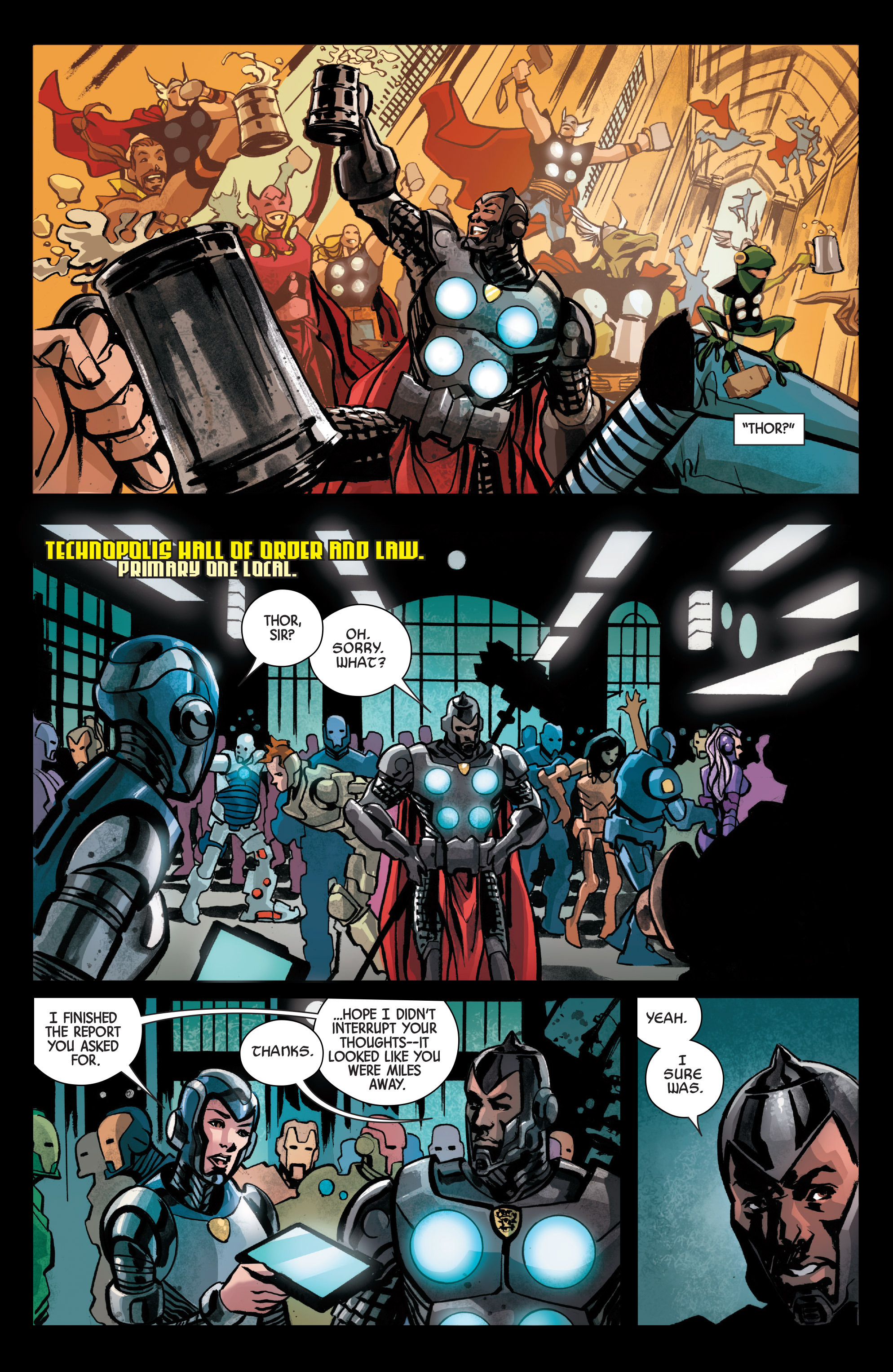 Read online Armor Wars comic -  Issue #1 - 14