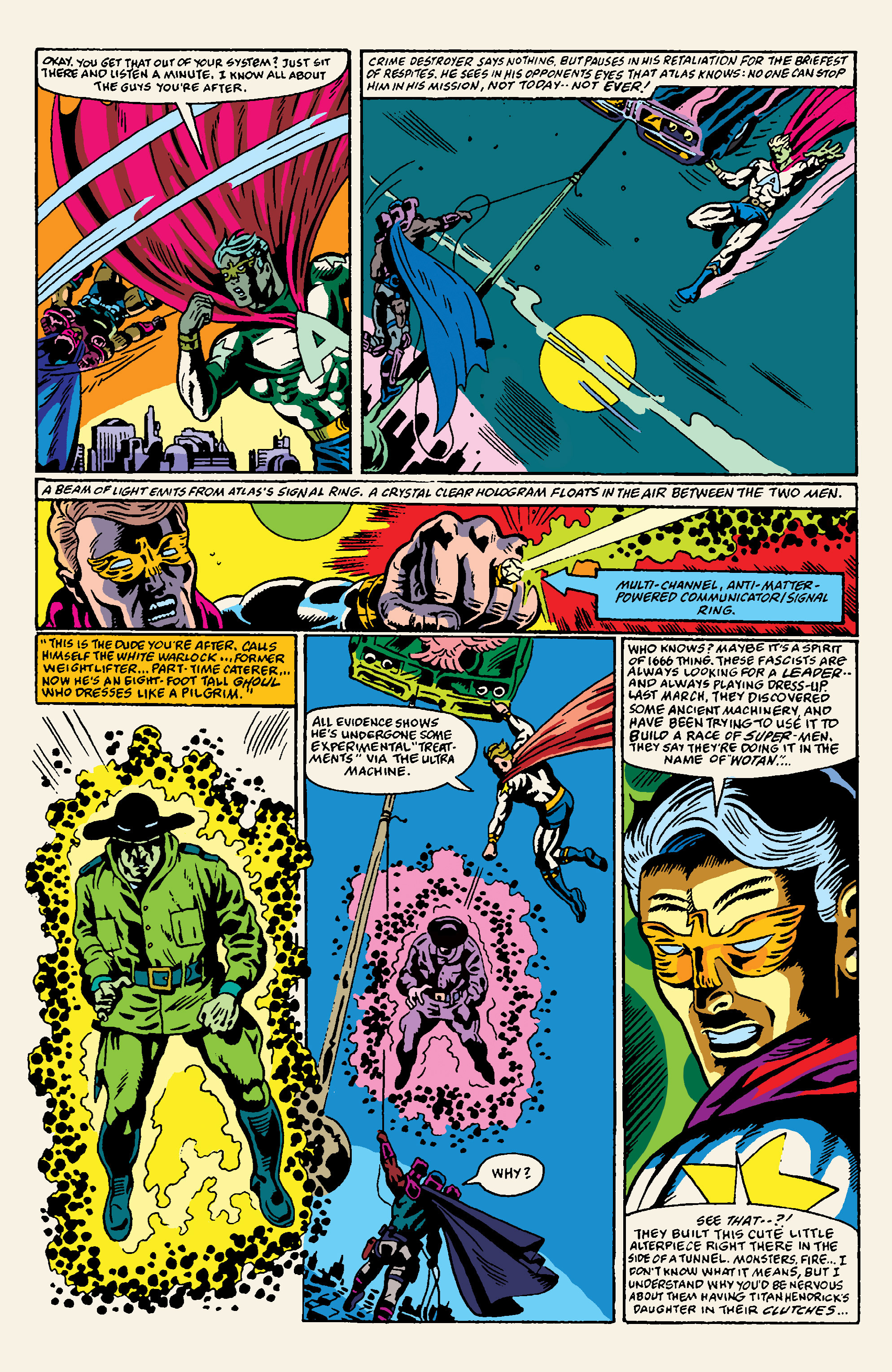 Read online All Time Comics: Crime Destroyer comic -  Issue #1 - 10
