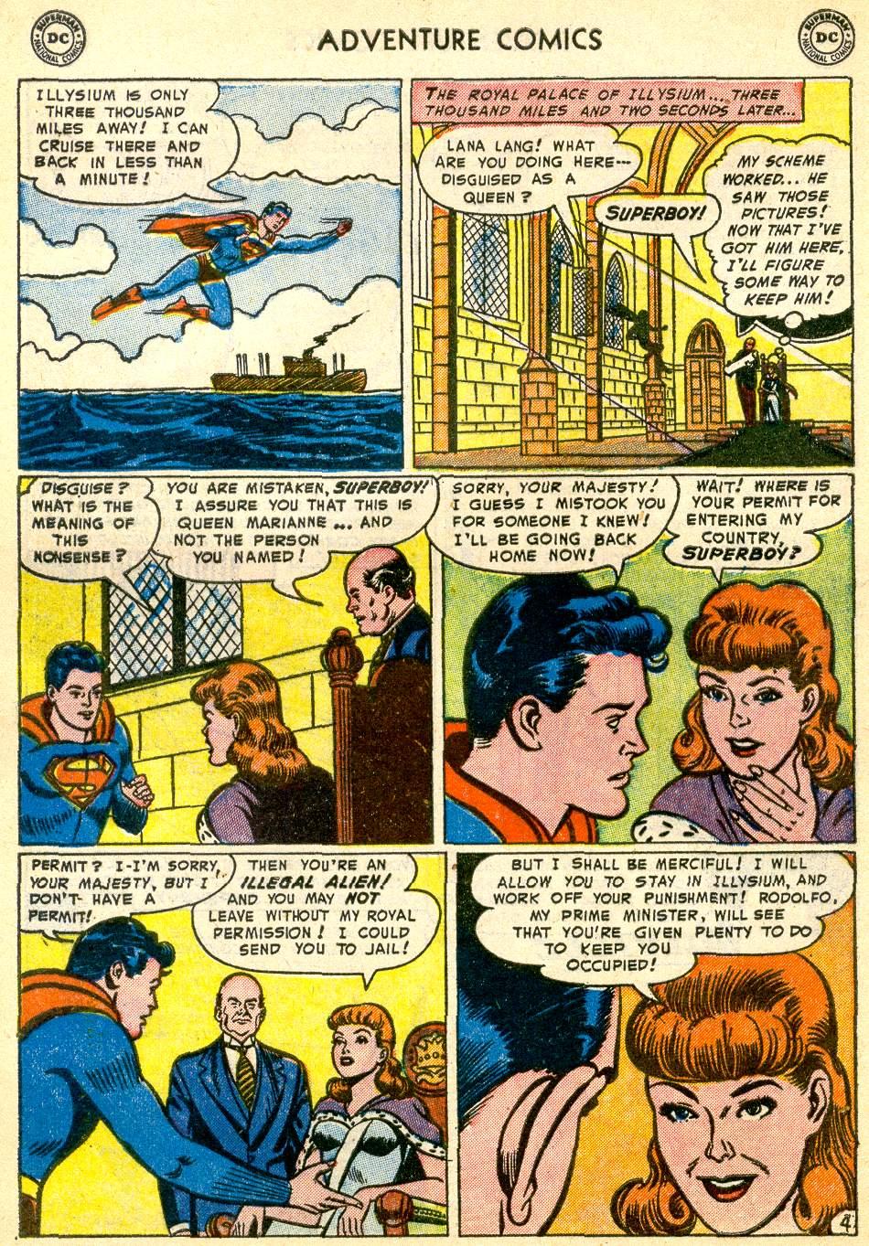 Read online Adventure Comics (1938) comic -  Issue #192 - 6
