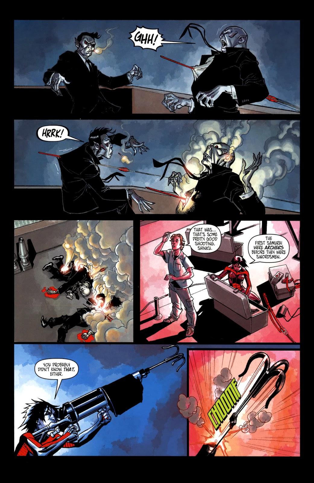 Read online Shinku comic -  Issue #2 - 8