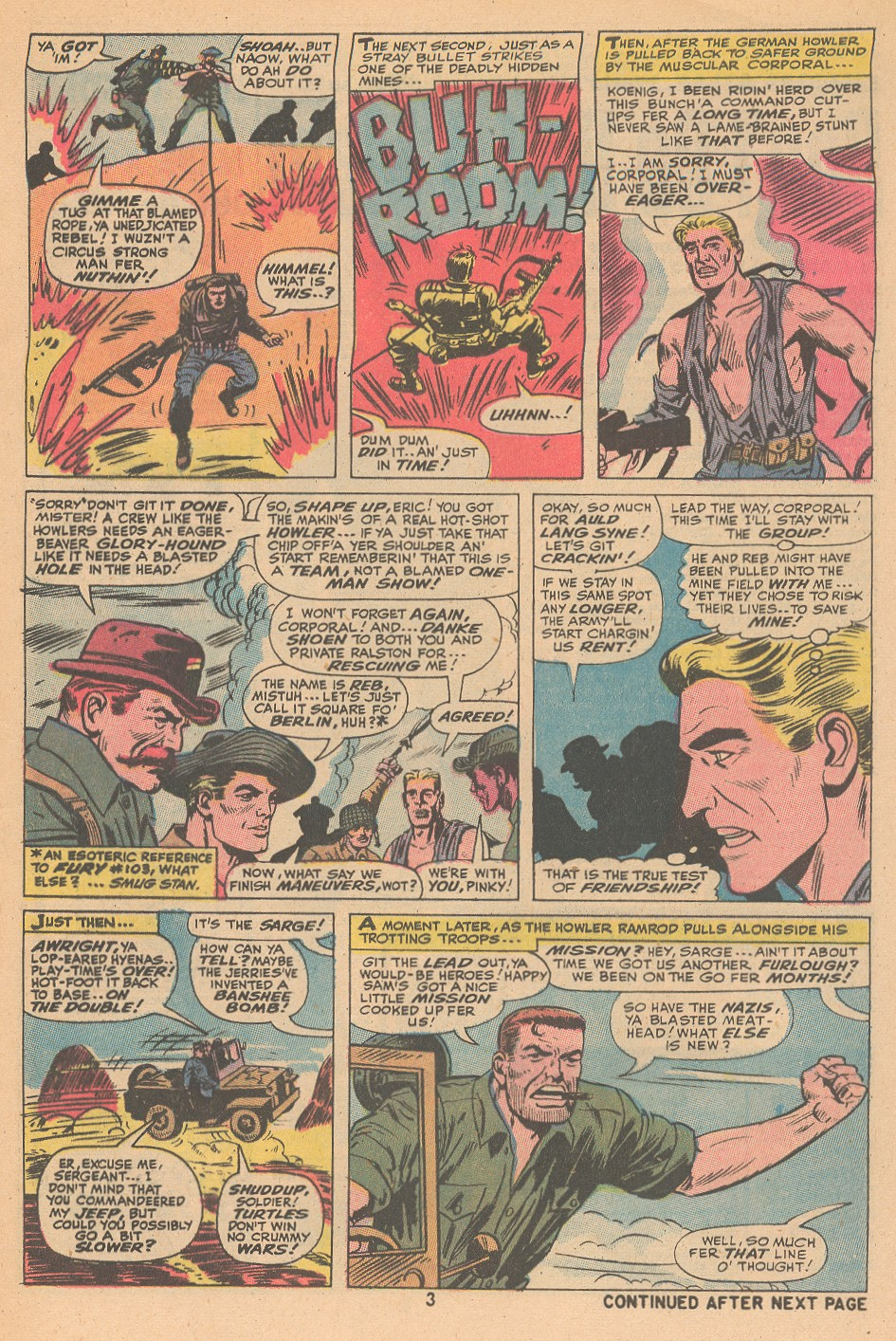 Read online Sgt. Fury comic -  Issue #105 - 5